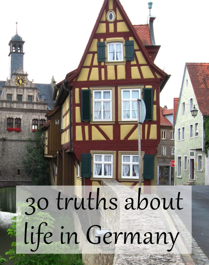 You might live in Germany if: