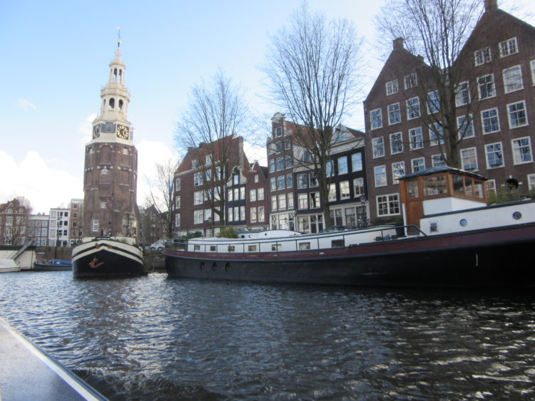 Amsterdam from the water: a canal tour.