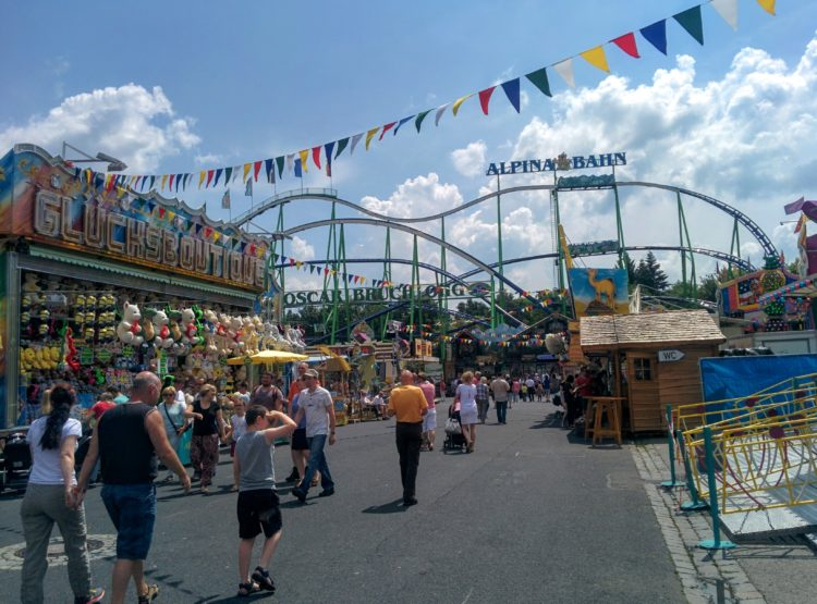 About the Schweinfurt Volkfest and Our Next Coaster Trip.