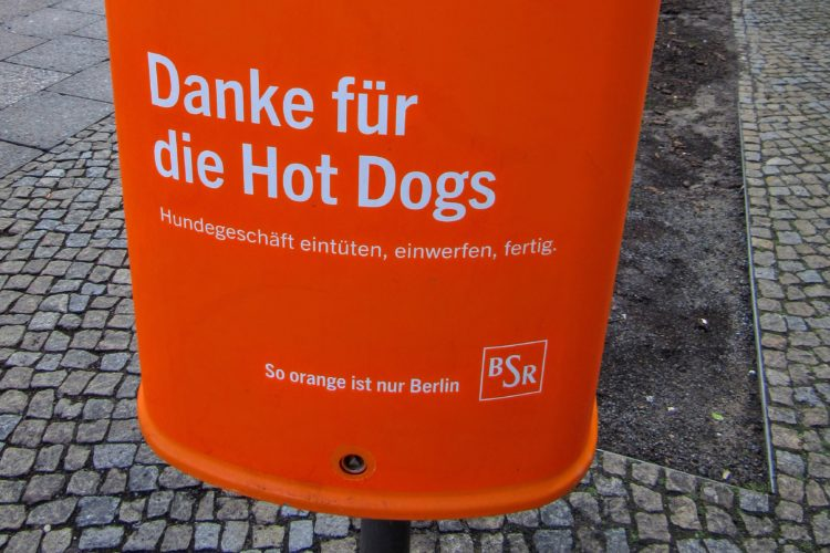 Berlin, I Love Your Trash Cans.