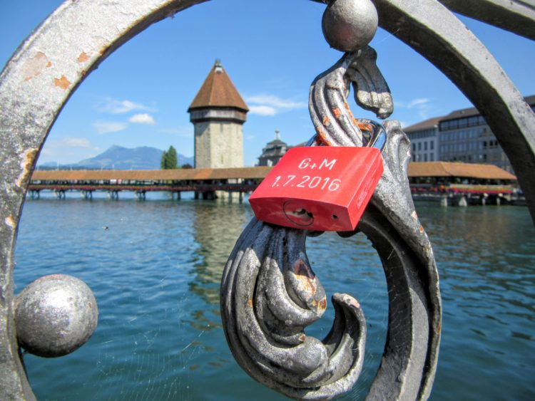 Love Locks in Europe. | My Meena Life