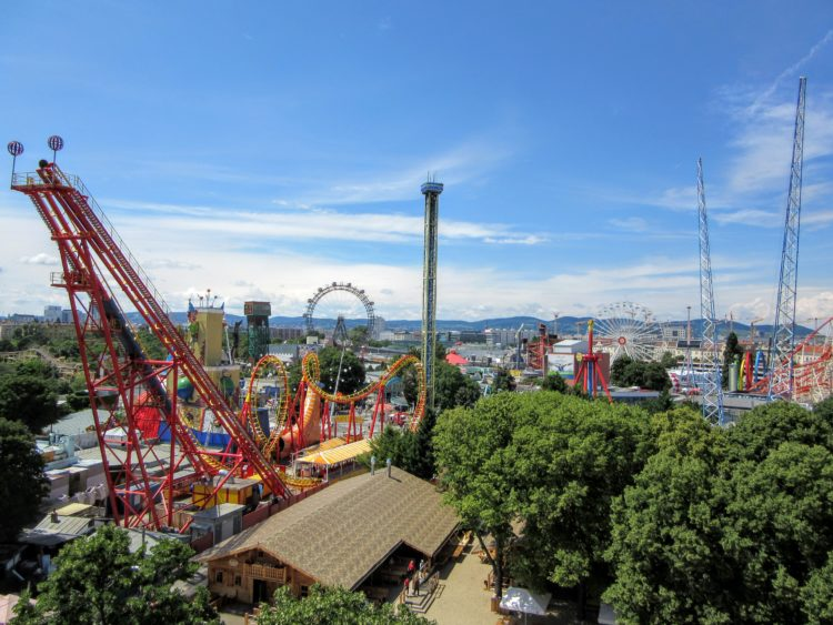 Visiting the Wurstelprater Amusement Park in Vienna, Austria. | My Meena Life.