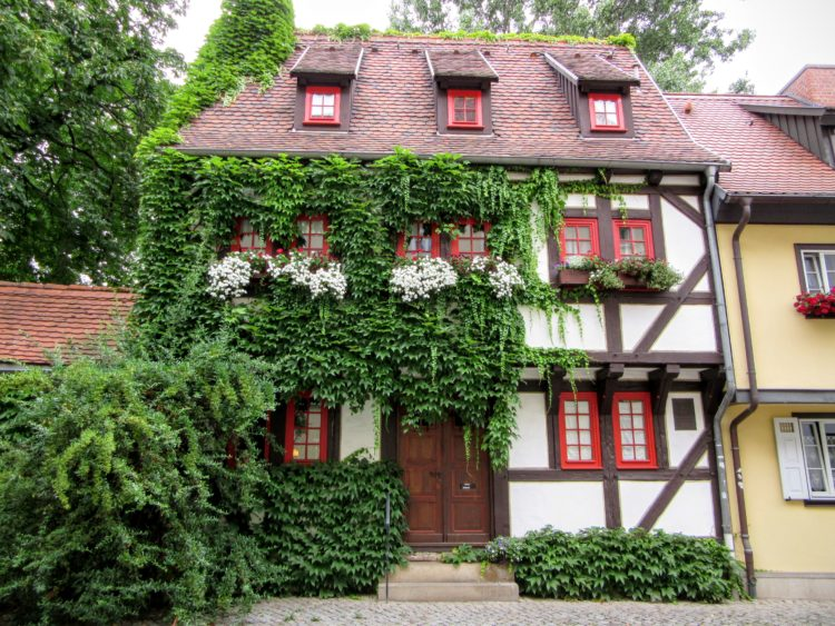 Half-Timbered Houses in Erfurt. | My Meena Life