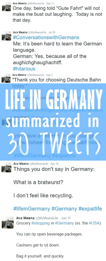 Summarizing Life in Germany in 30 Tweets.