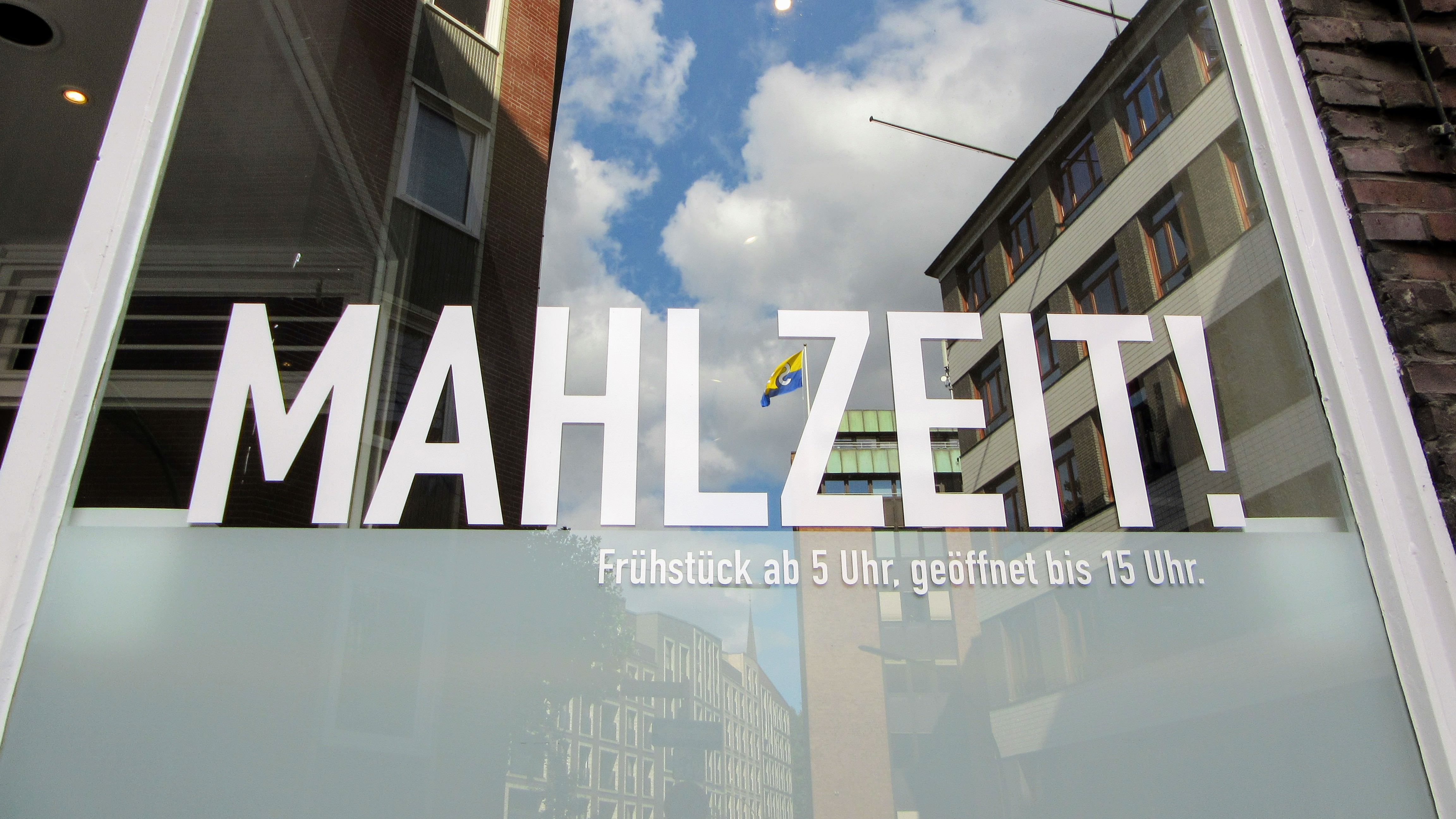 Mahlzeit sign. | Missing Germany