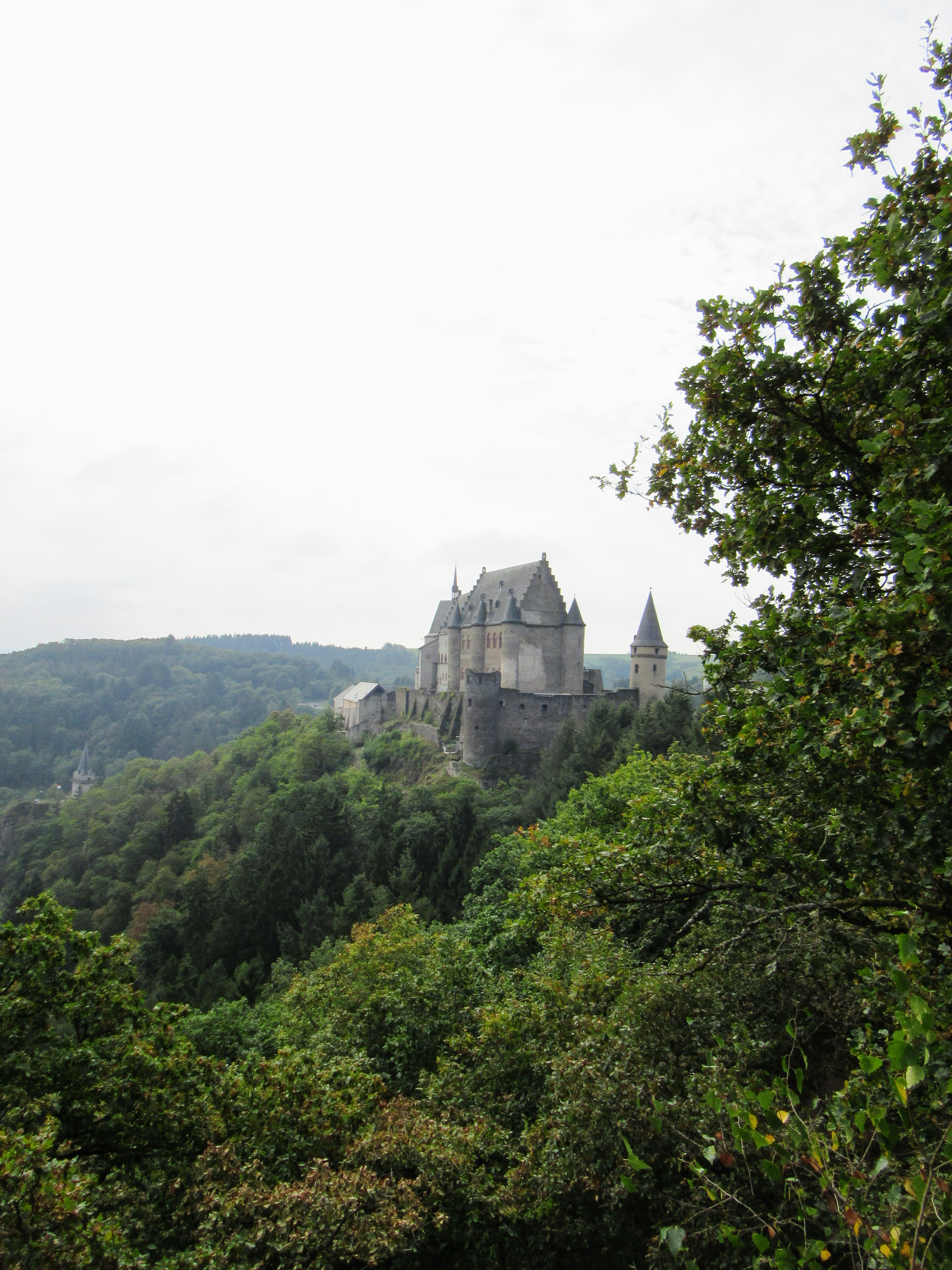 Vianden Castle. | City Break in Vianden, Luxembourg.