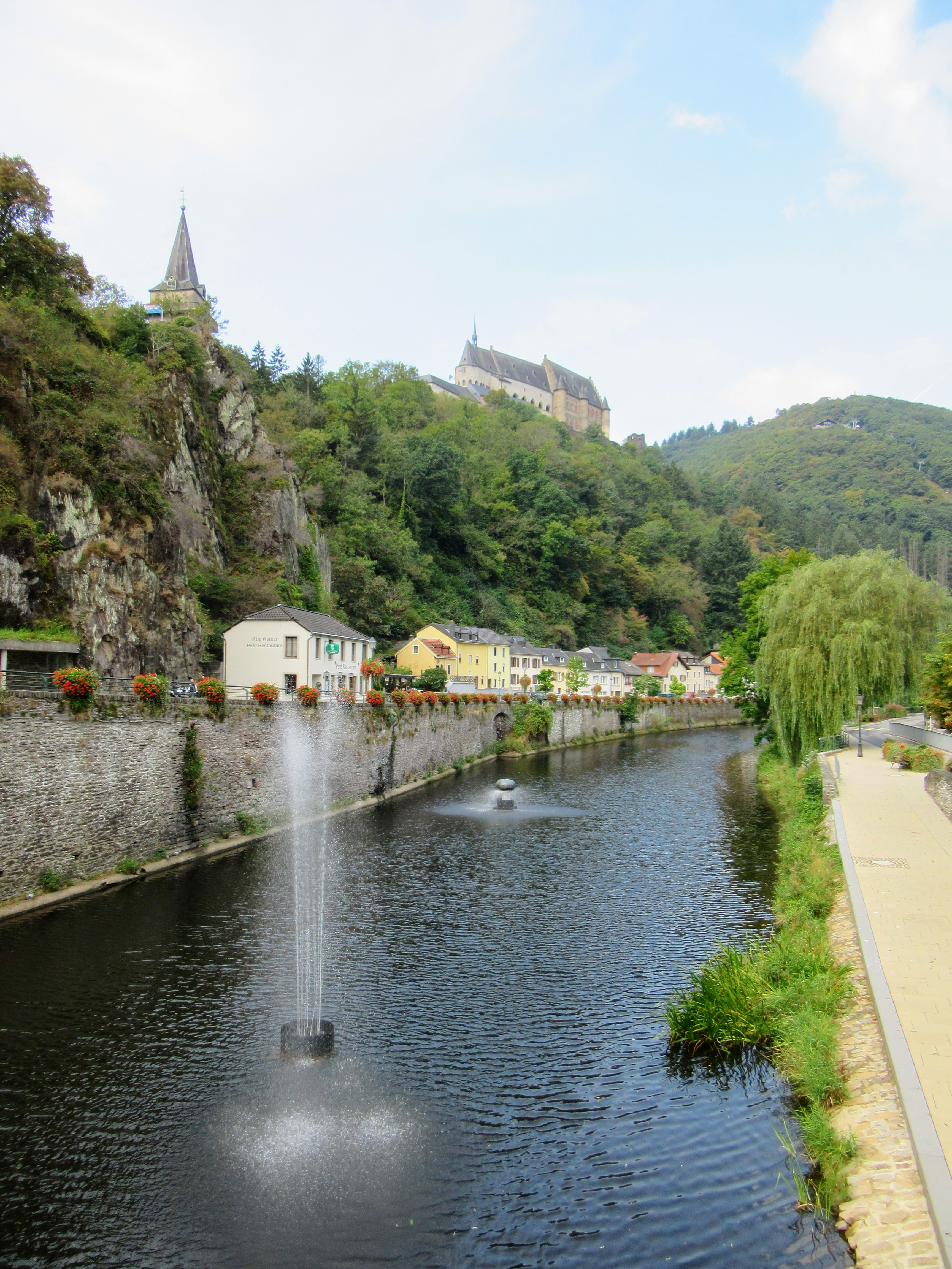 City Break in Vianden, Luxembourg.