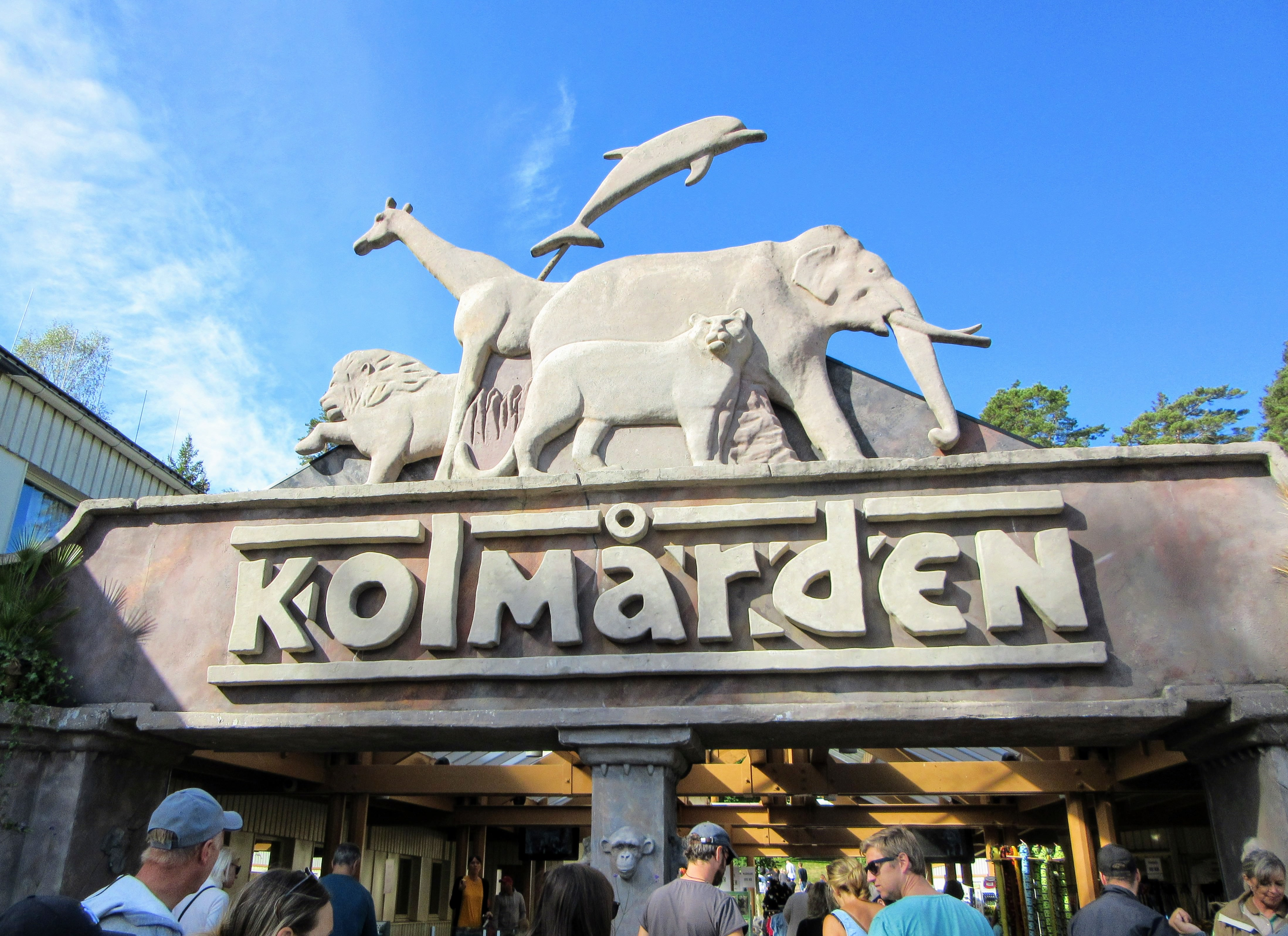 Kolmården Entrance.