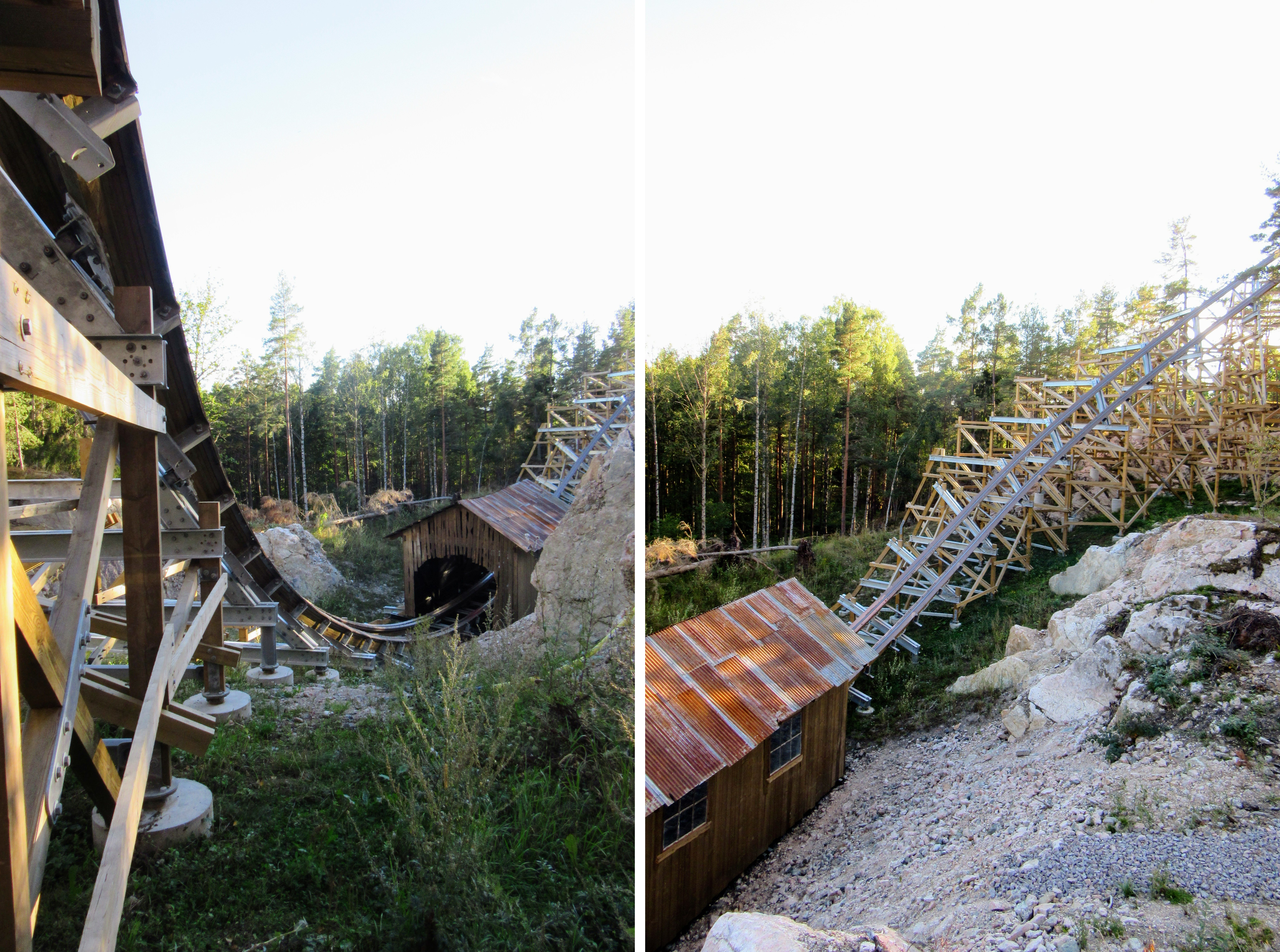 Behind the scenes tour of Wildfire at Kolmården.