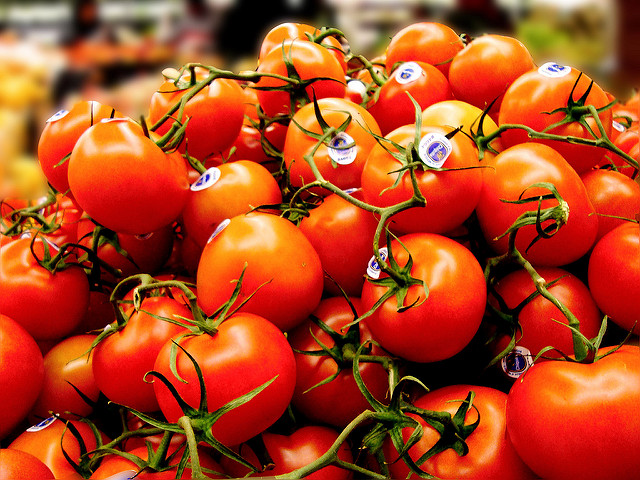 Tomatoes. | Going Grocery Shopping in Germany.  Photo by Janine via Flickr.