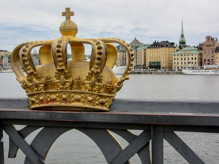 A crown in Stockholm. | 10 Reasons Why Sweden Felt Like Home.