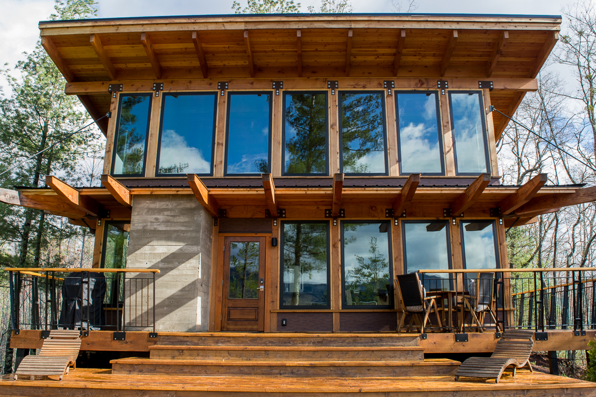 The Stecoah House - a Luxury Cabin Rental in North Carolina.