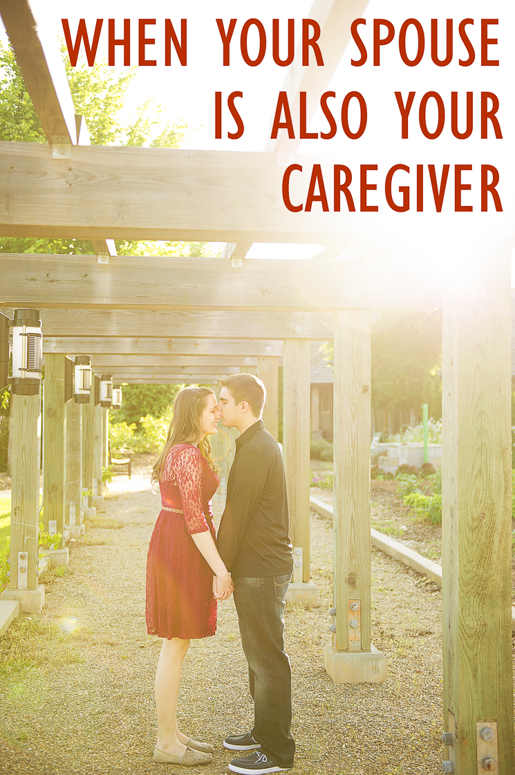 When your spouse is also your caregiver, a happy relationship can become stressed beyond endurance. I'm here to tell you that you're not alone and also share tips on how to ease the burden. | When Your Spouse Is Also Your Caregiver (+ Tips for Easing the Burden) on My Meena Life.