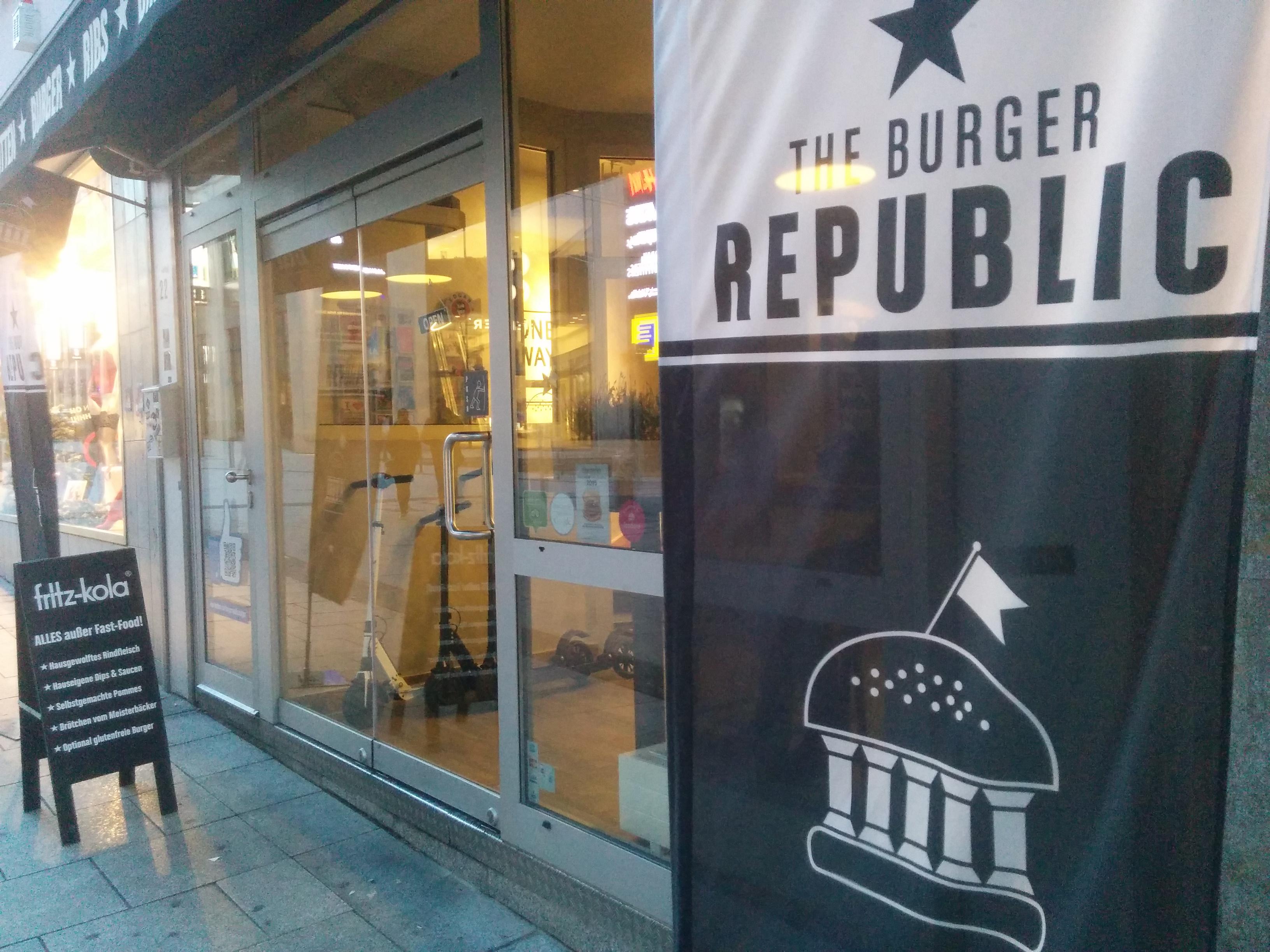 The Burger Republic in Stuttgart, Germany.