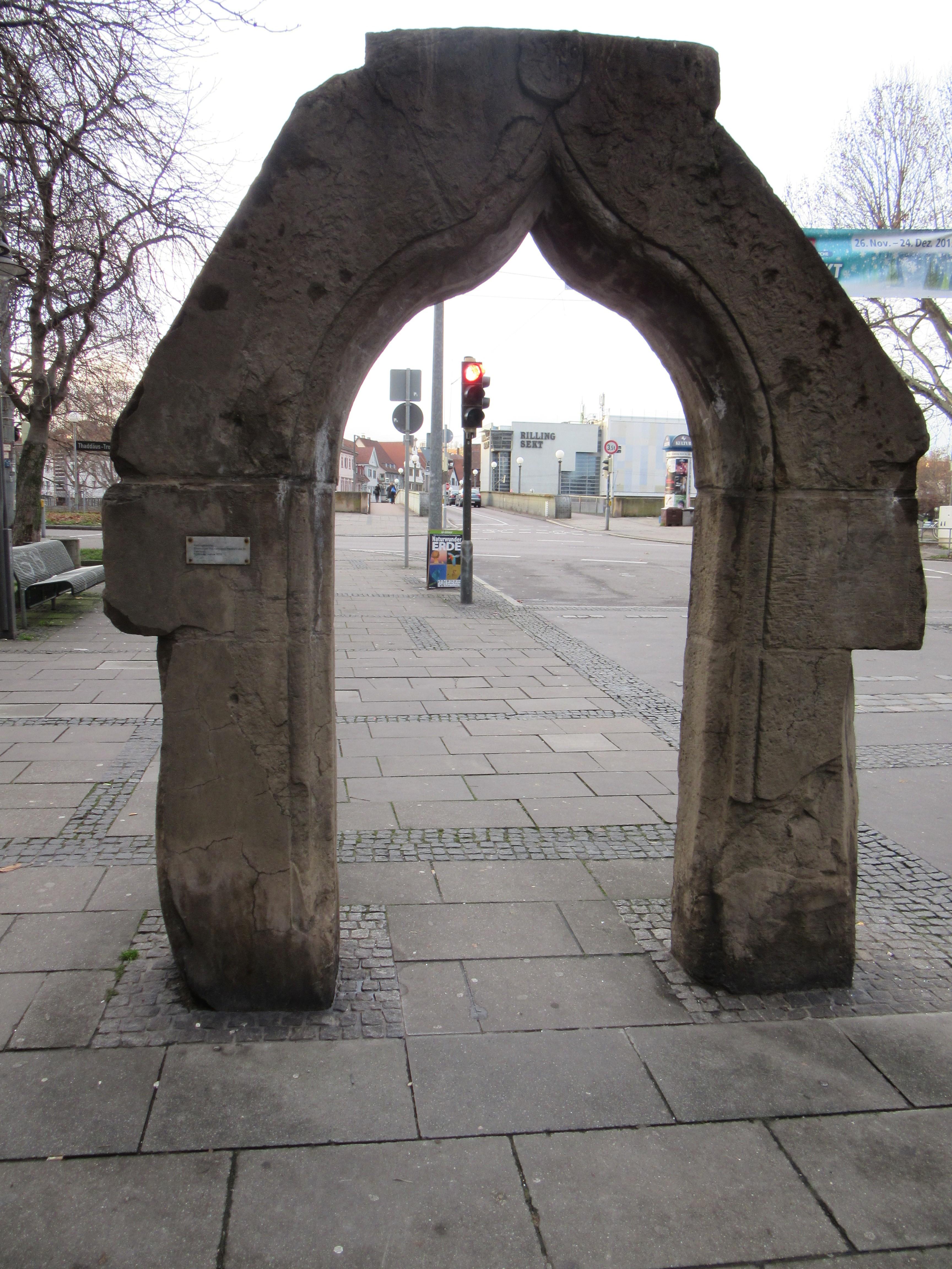Ogee Portal in Stuttgart, Germany.