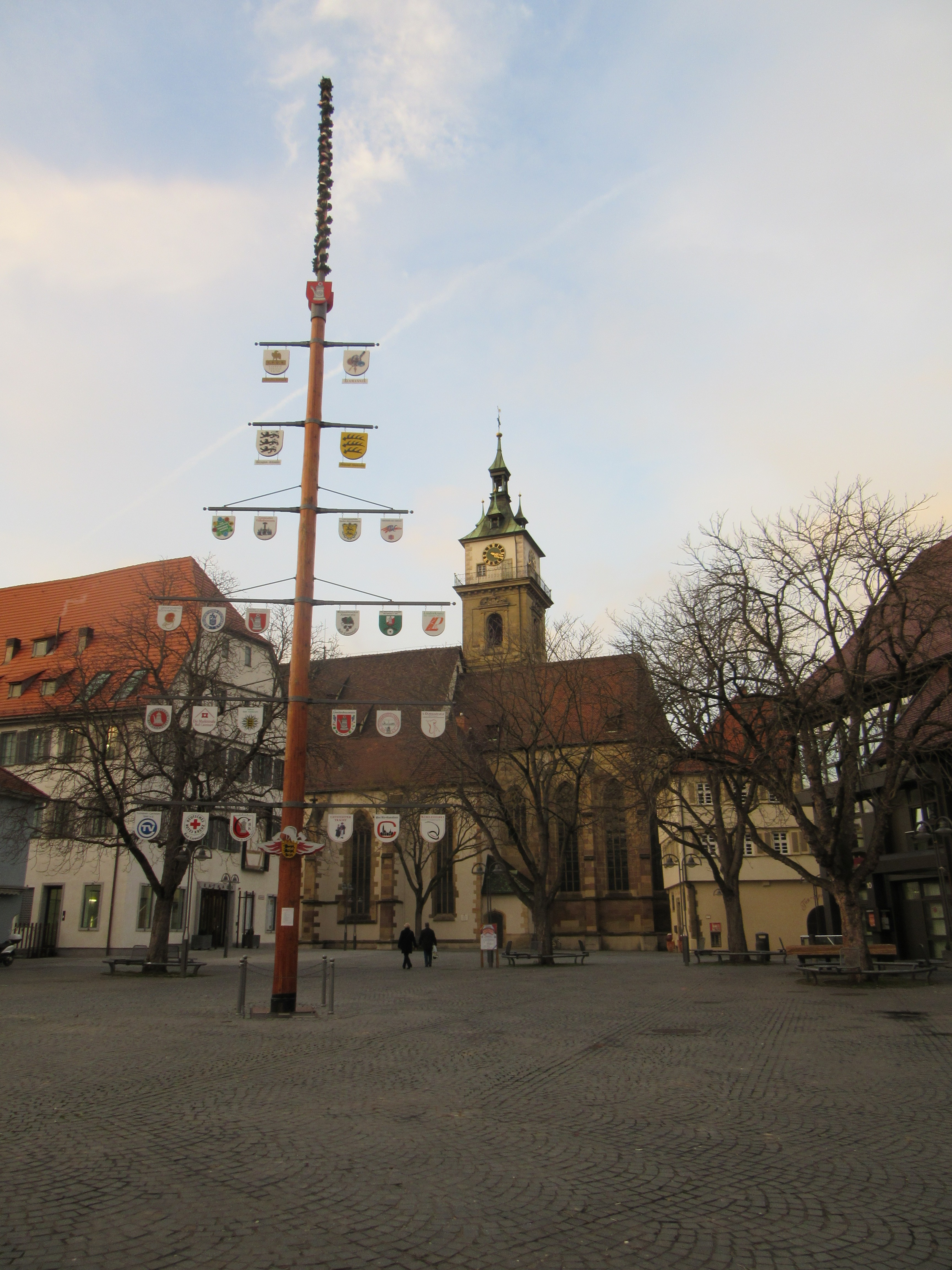 Marktplatz in Bad-Cannstatt, Stuttgart.
