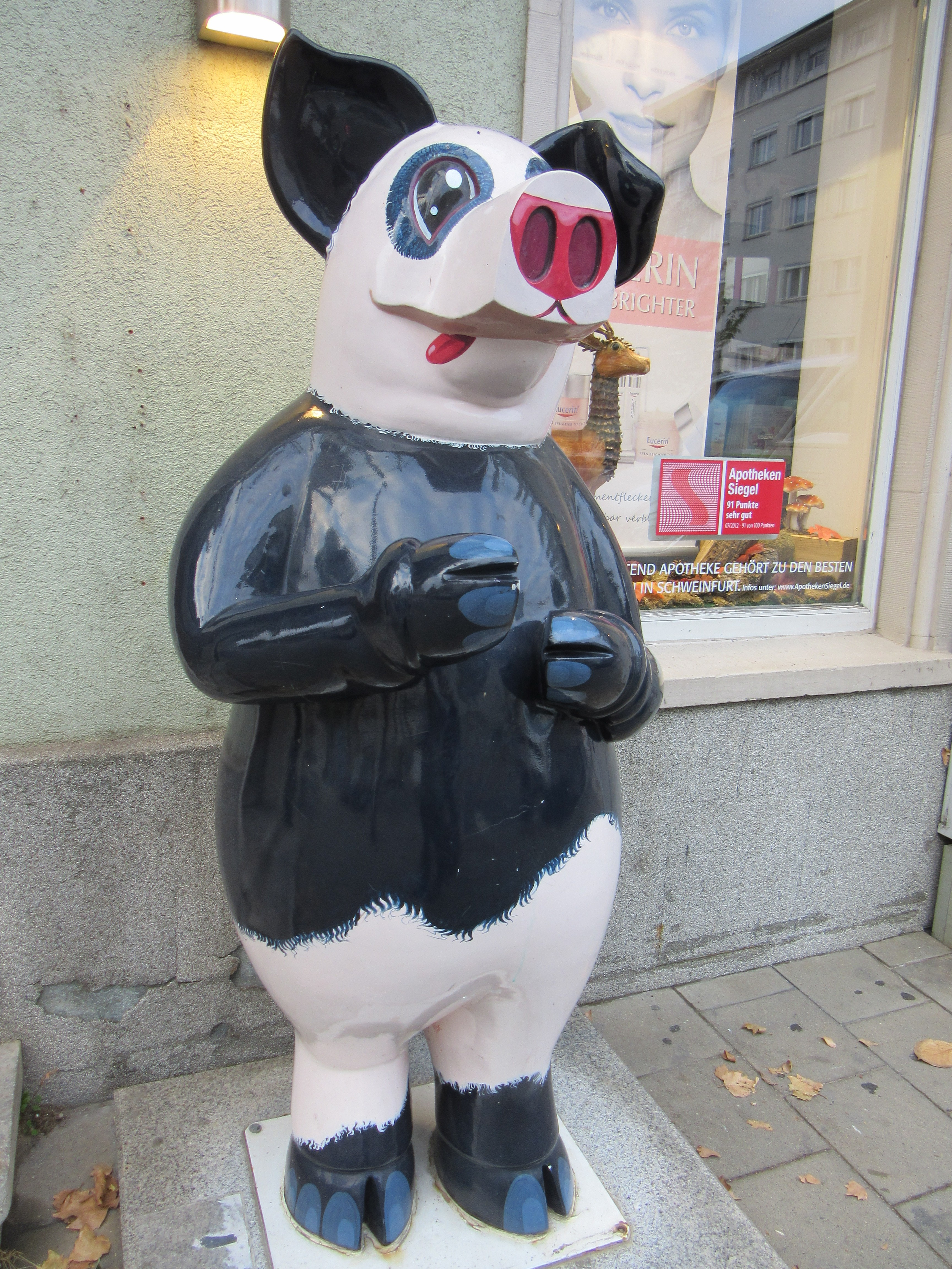 The Panda Pig in Schweinfurt.