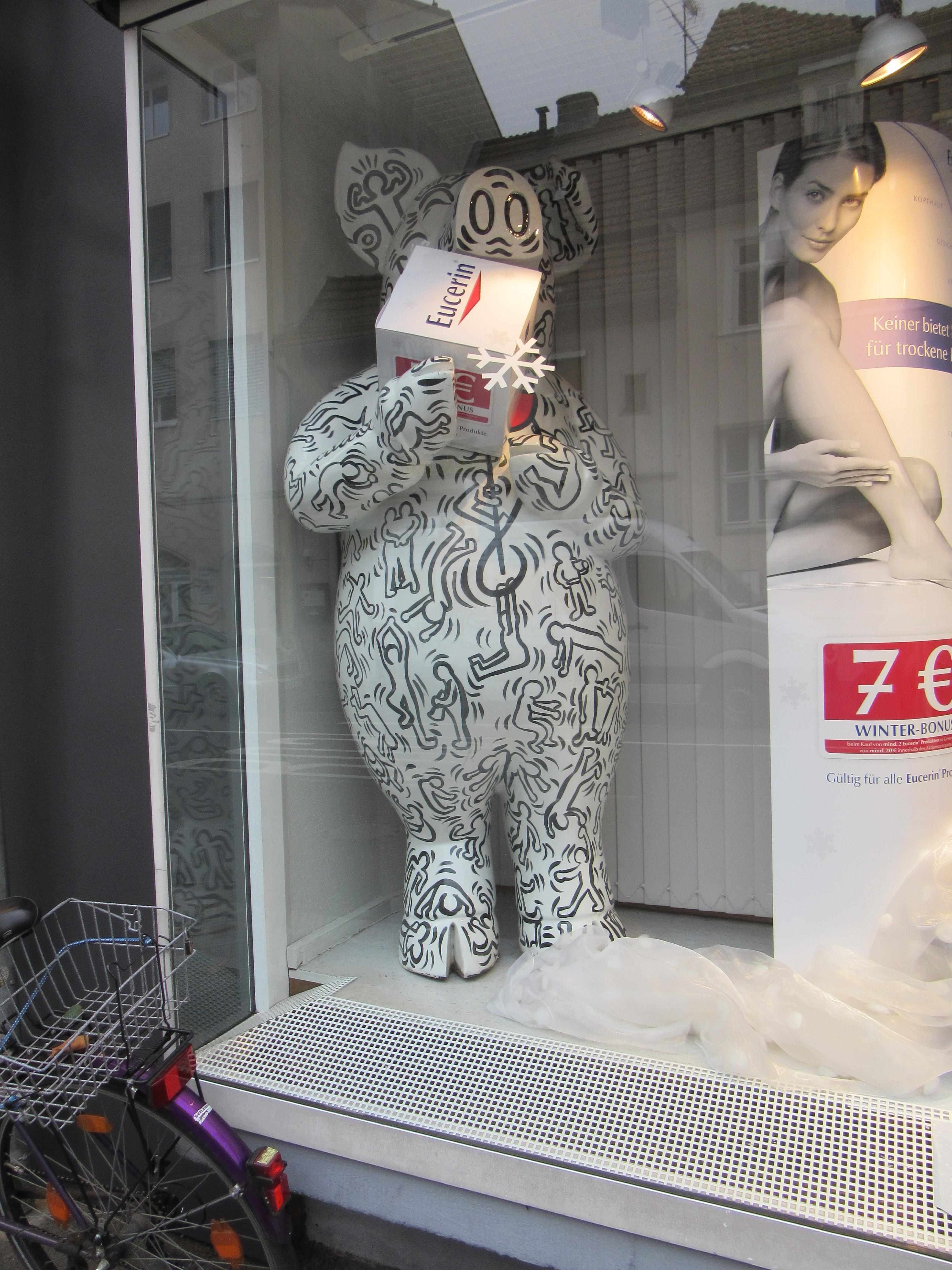 The pharmacy pig.