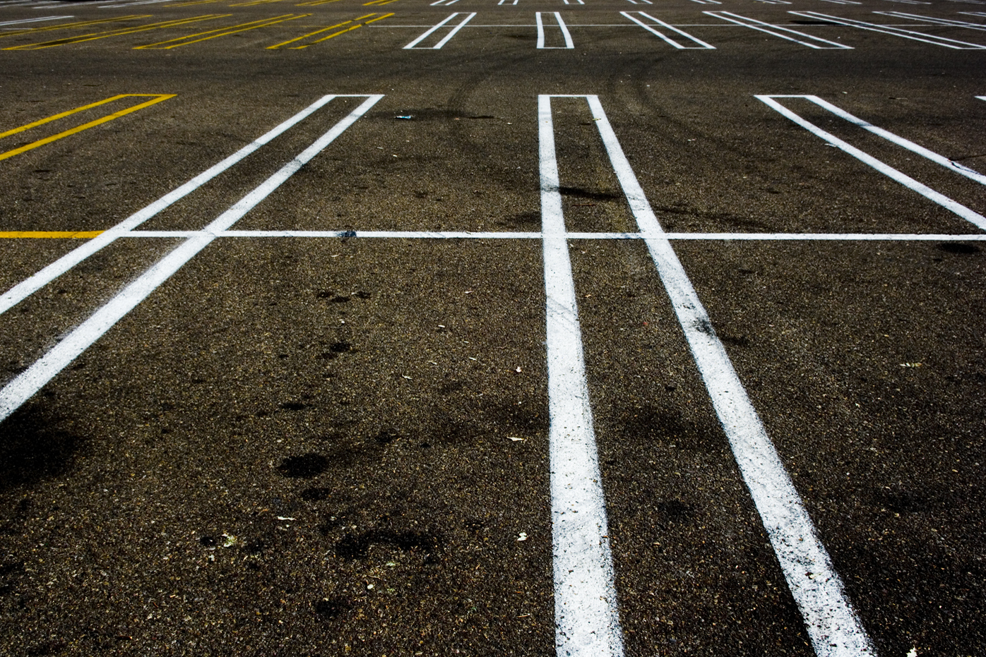 An empty parking lot: photo by Radcliffe Dacanay on Flickr.