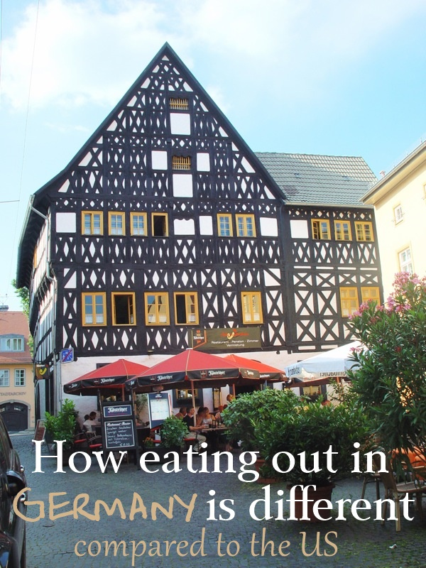 17 Ways the German Restaurant Experience Is Different Compared to the US. Photo by Hellebardius on Flickr.