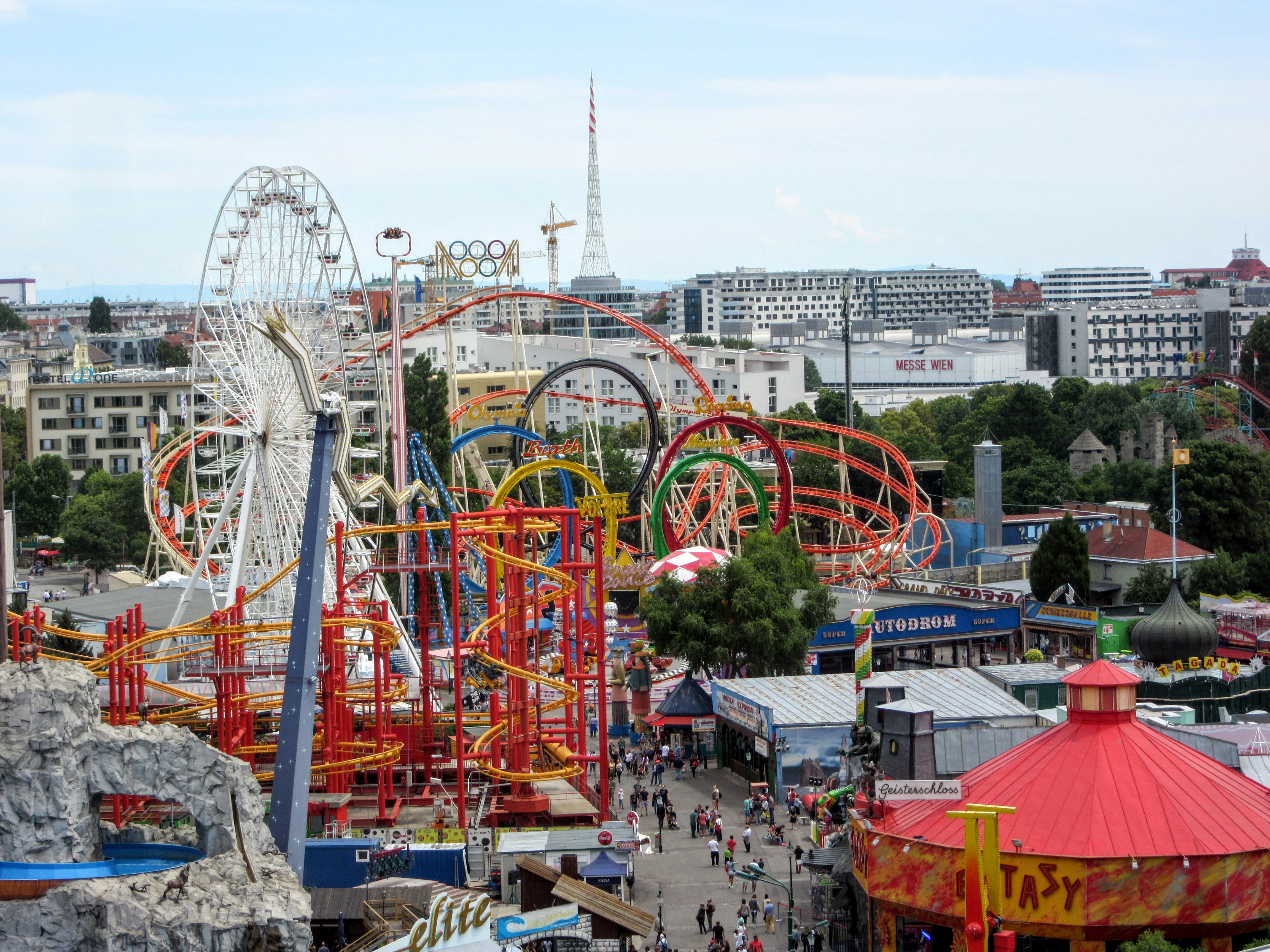 a visit to the amusement park We asked travel channel fans to tell us their favorite water, amusement and  theme park picks take a look at these fun options — perfect summer trip ideas to  fit.