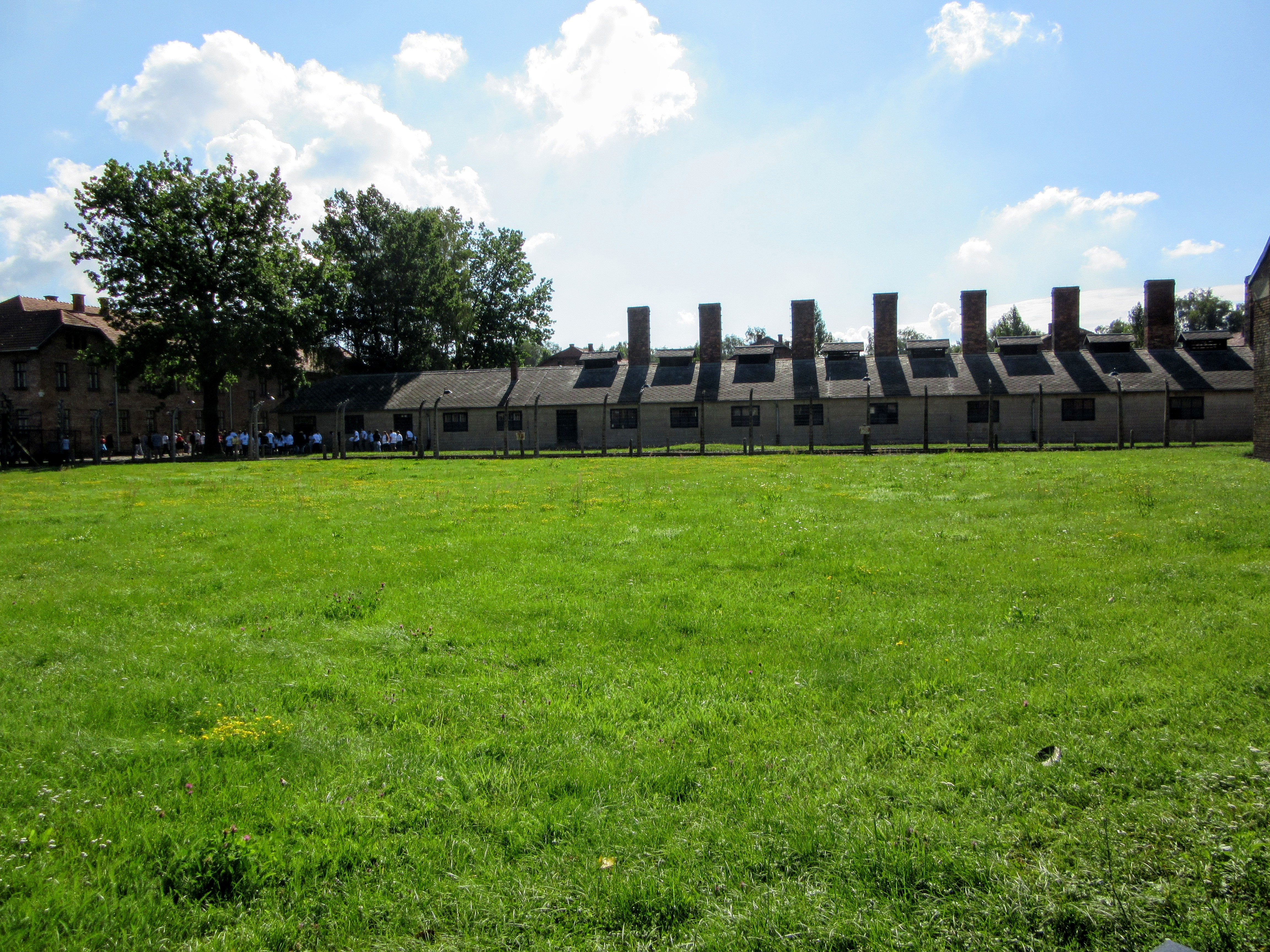 Jew Detector: Taking A Tour Of Auschwitz.