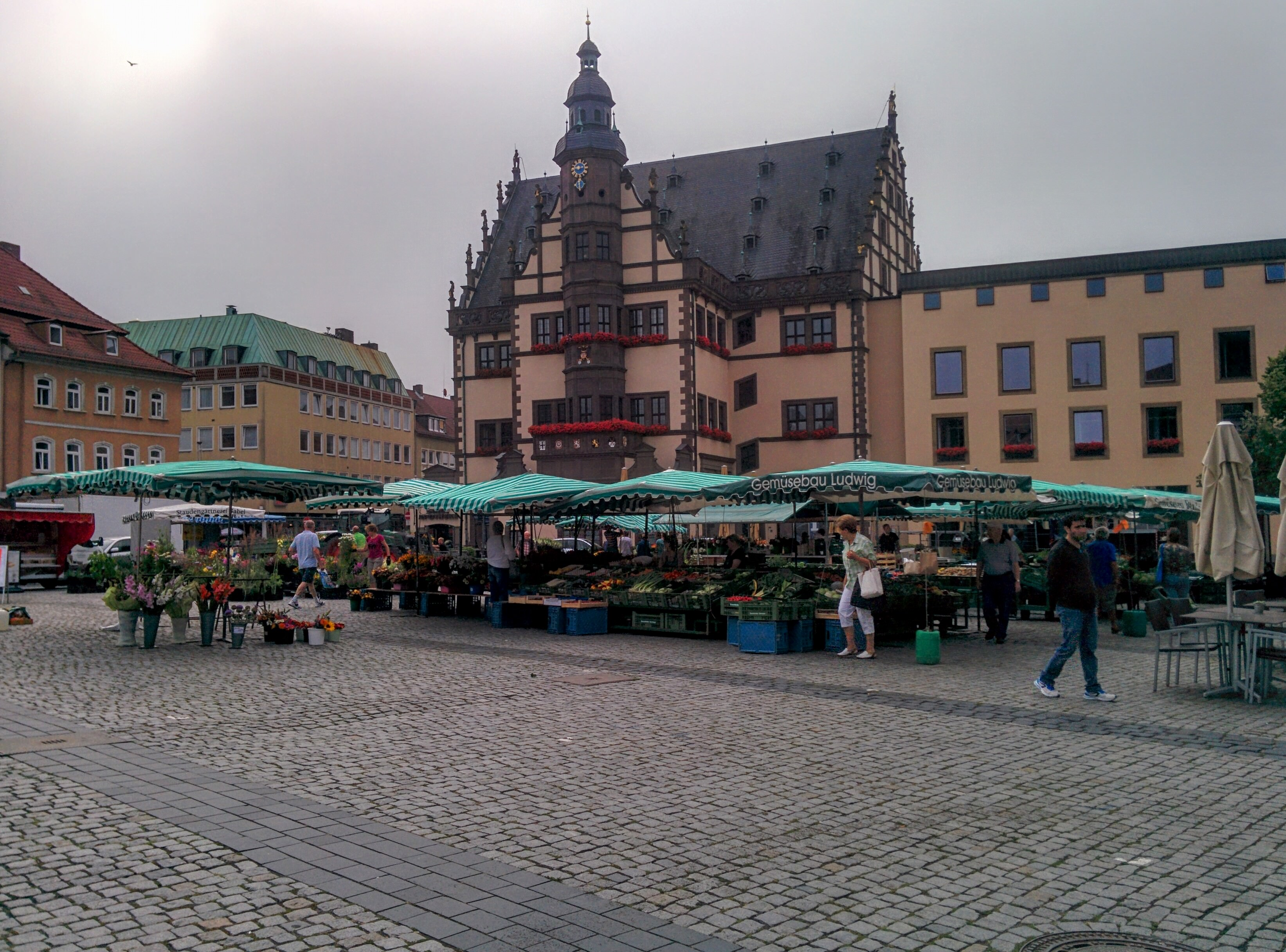 The Marktplatz. | A Day in the Life: Expat in Small Town Germany.