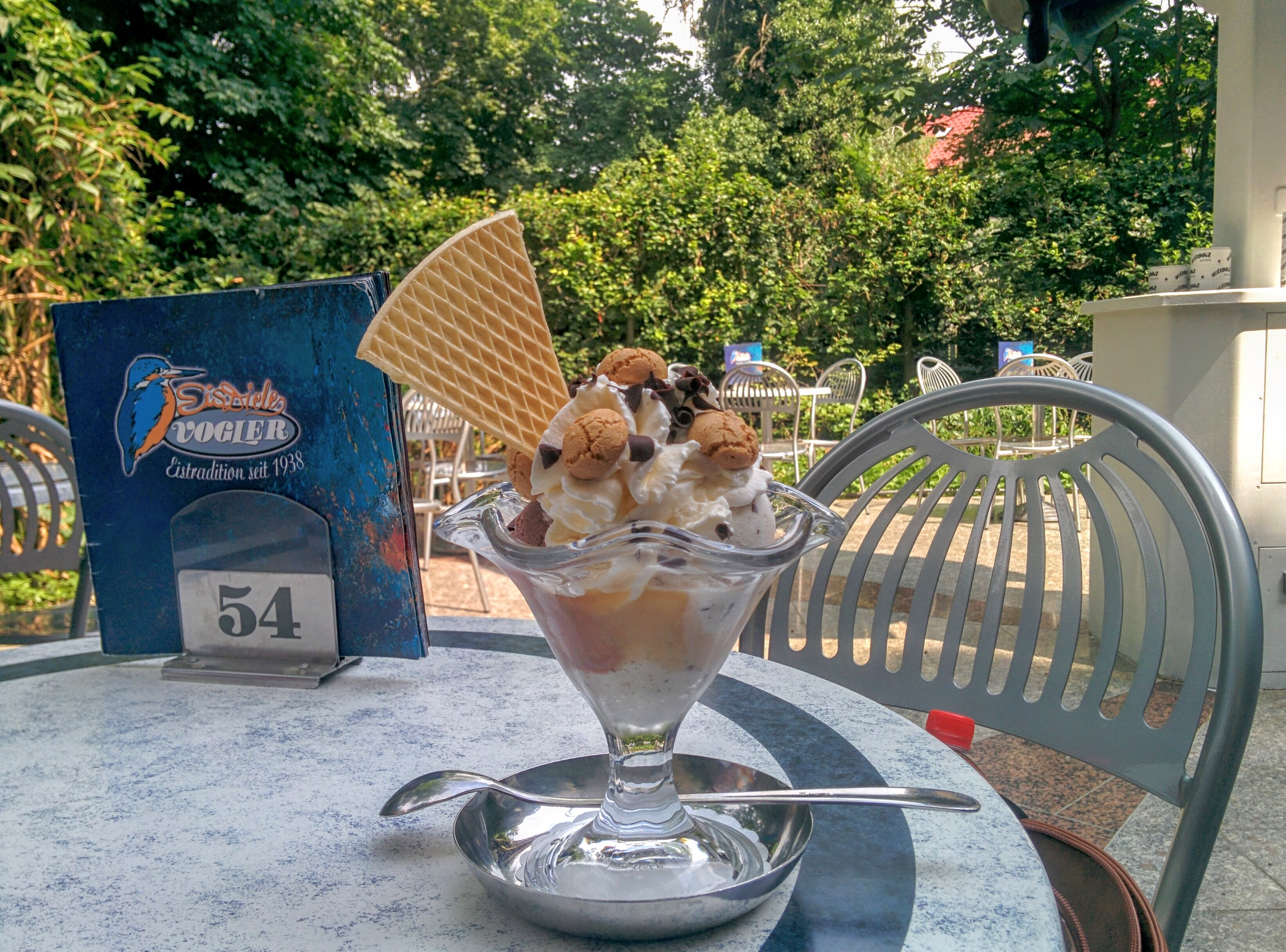 German ice cream. | A Day in the Life: Expat in Small Town Germany.