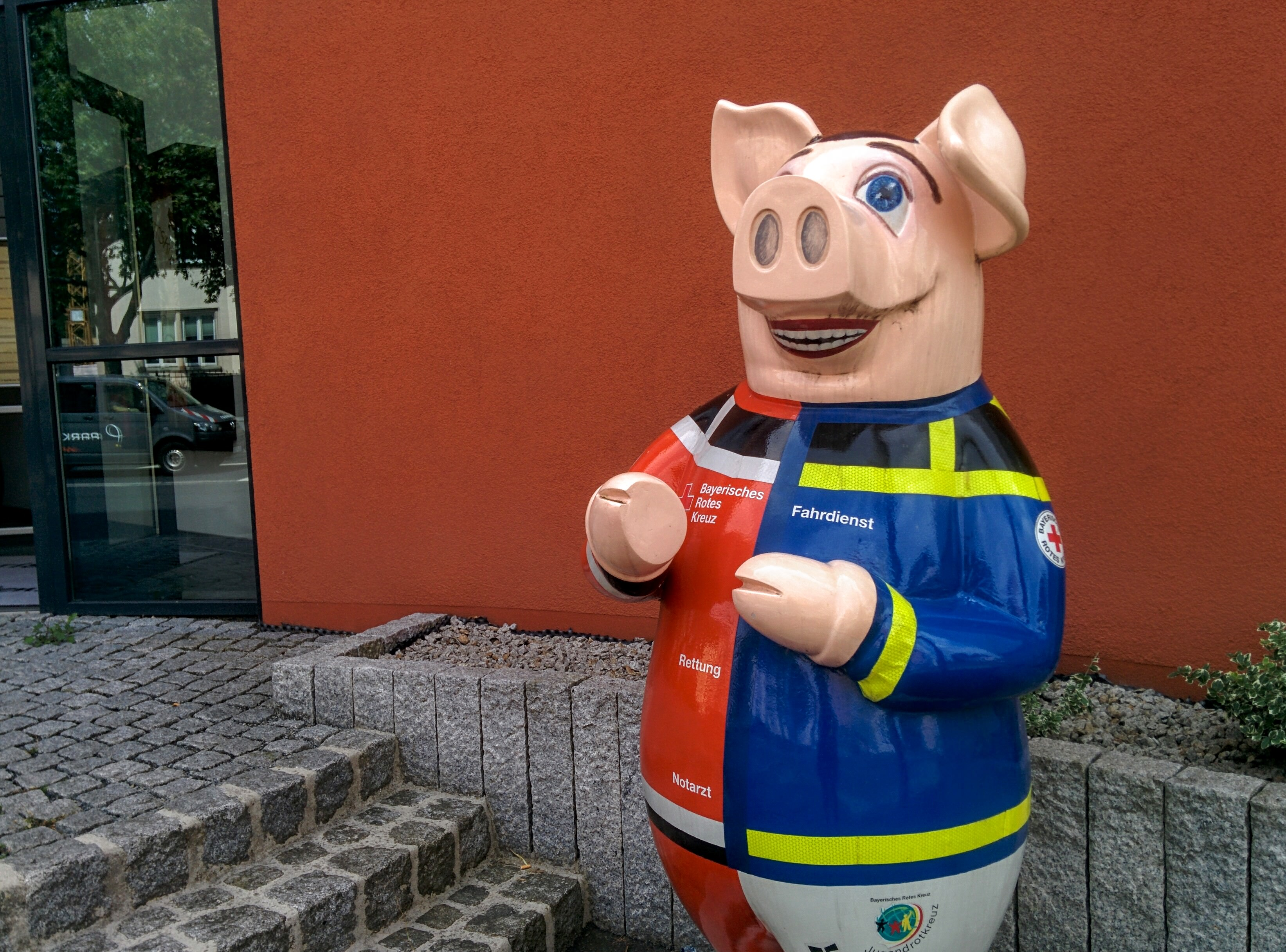 A Schweinfurt pig. | A Day in the Life: Expat in Small Town Germany.
