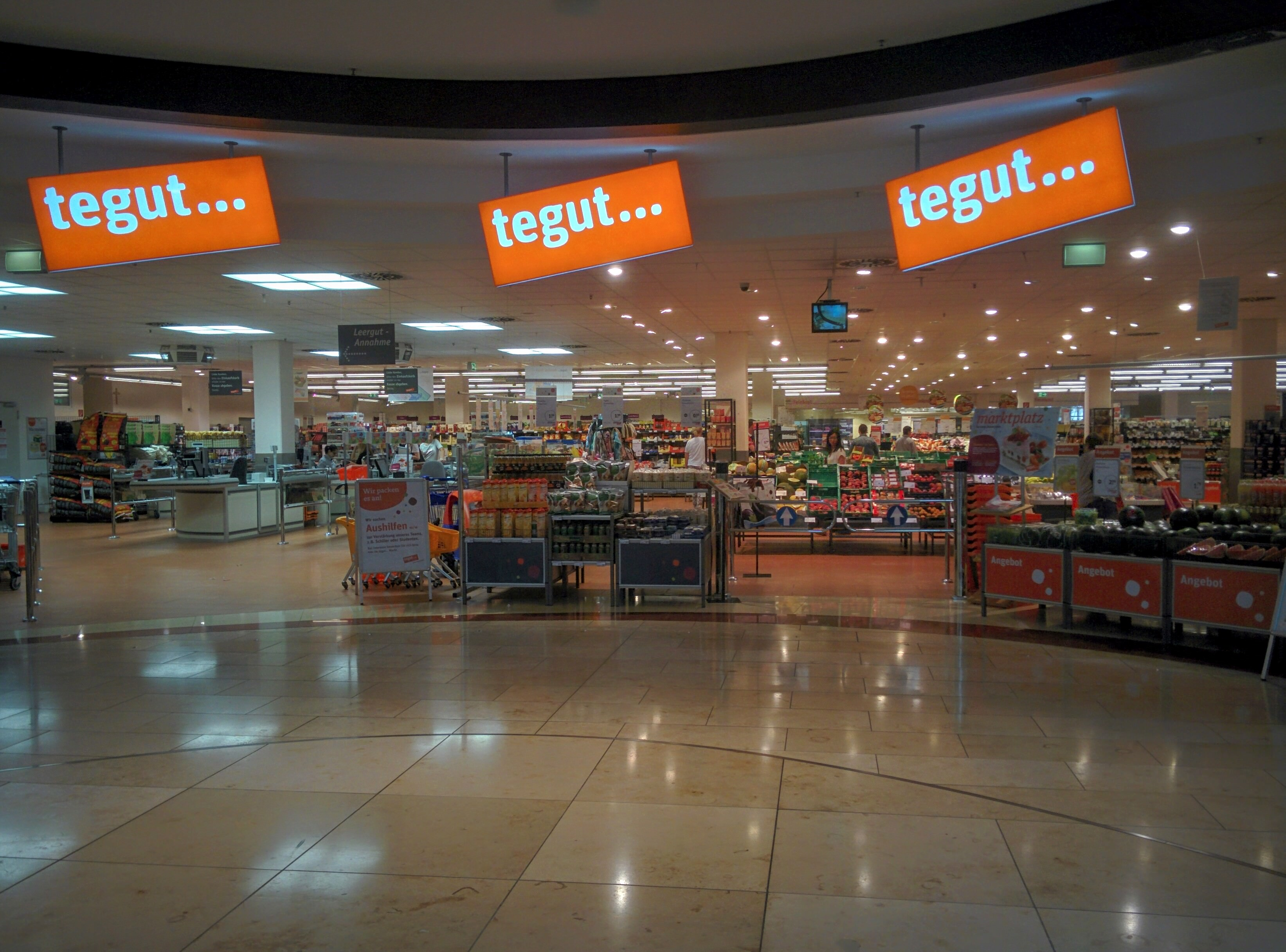 A German grocery store. | A Day in the Life: Expat in Small Town Germany.