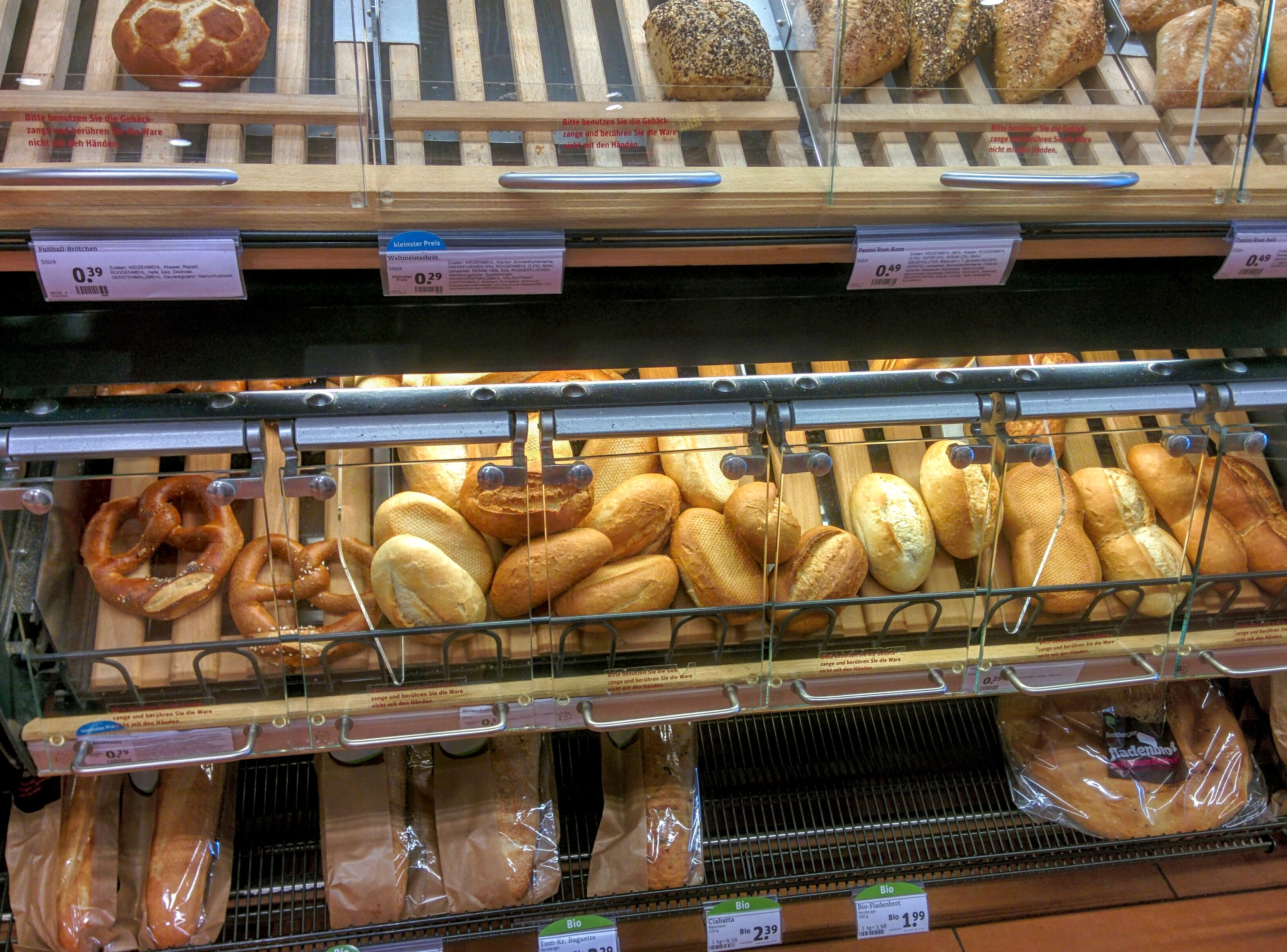 German bread. | A Day in the Life: Expat in Small Town Germany.