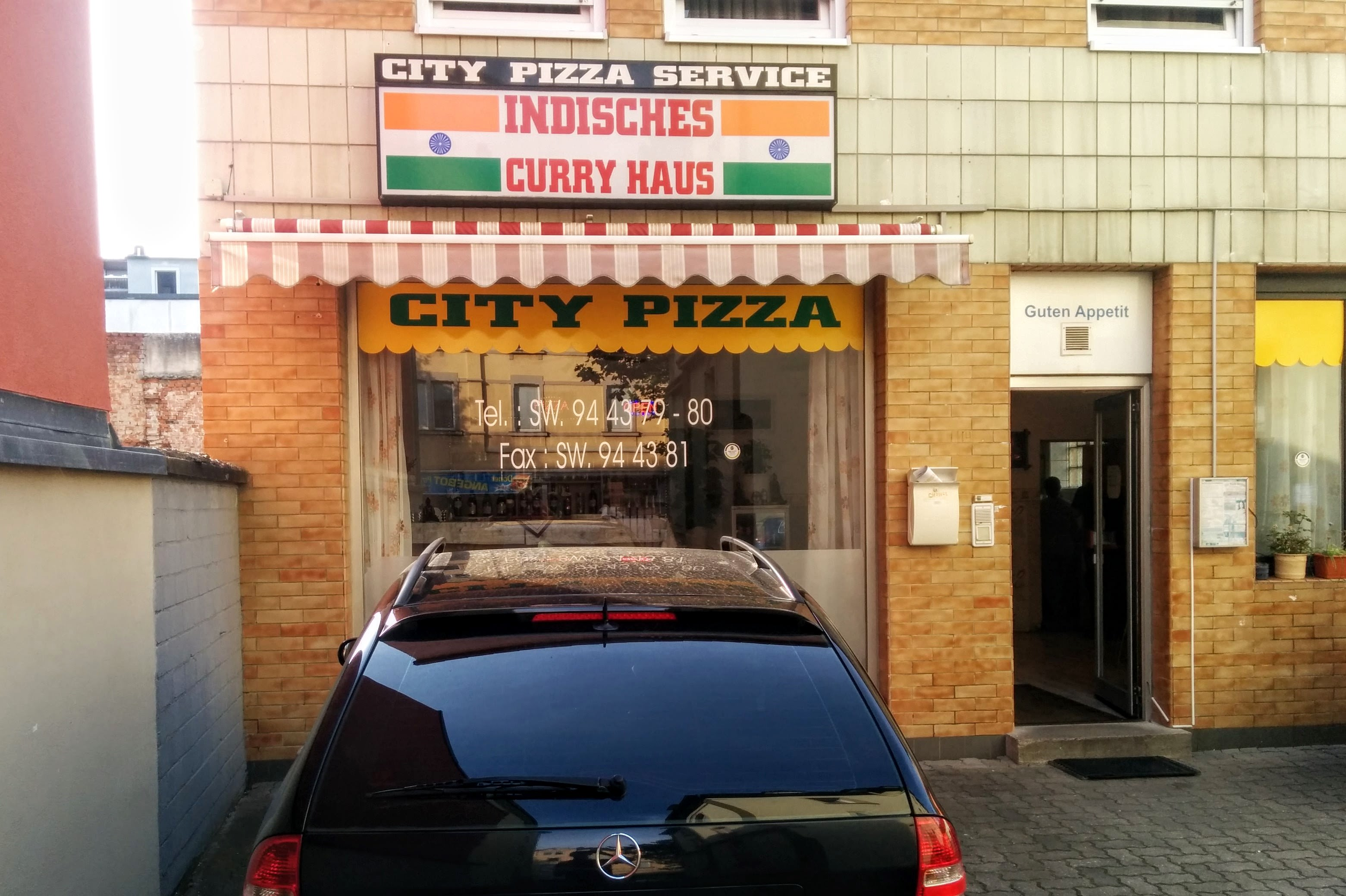 Our favorite pizza place. | A Day in the Life: Expat in Small Town Germany.