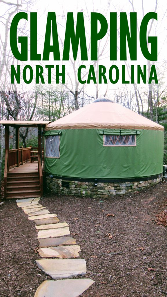 The Sky Ridge Yurts. | Glamping NC
