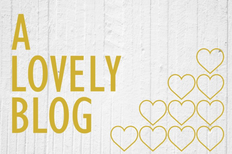 A Lovely Blog Award + More of My Favorite Bloggers. | Background by Mypik.