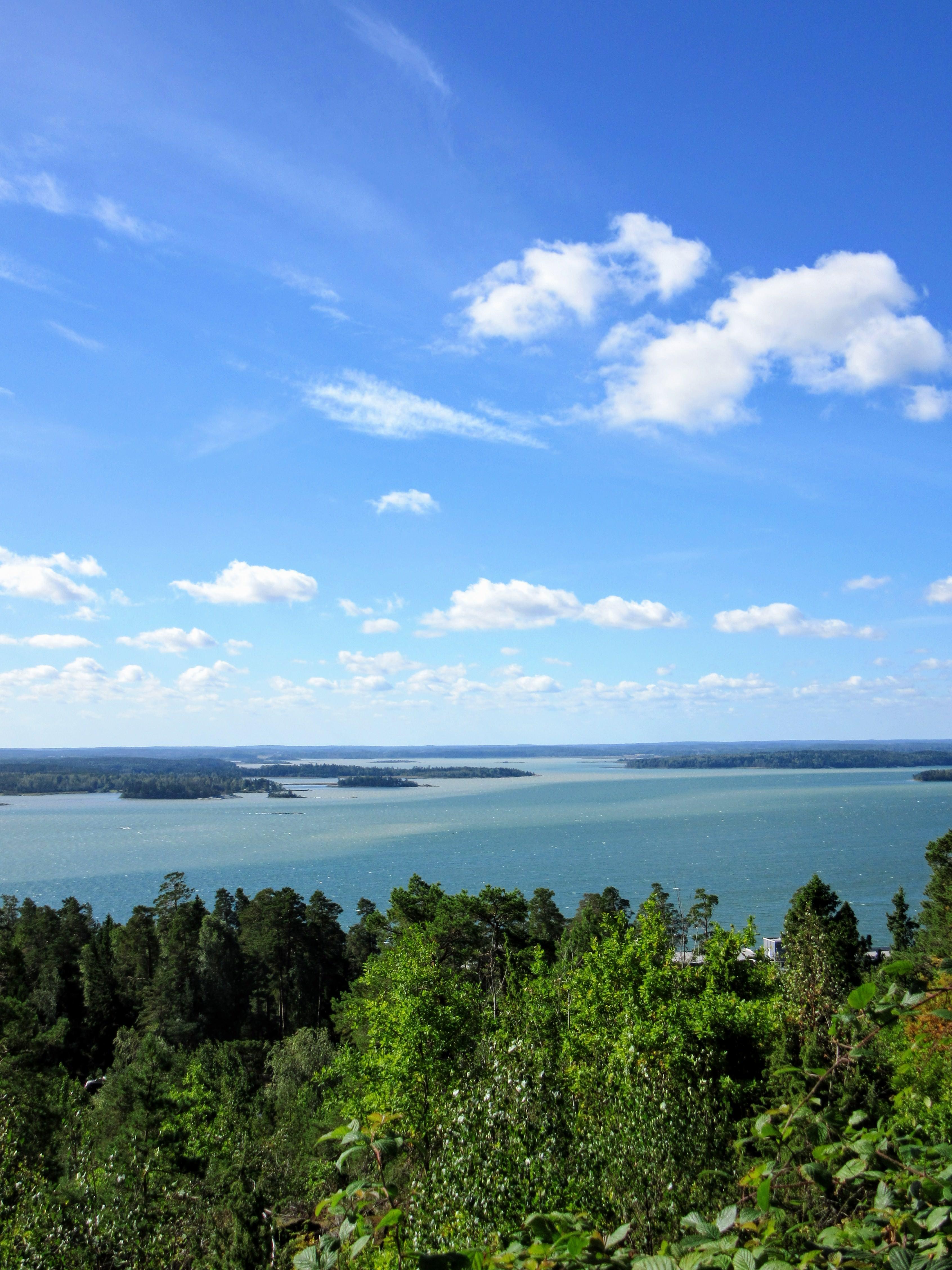 Bråviken Bay from Kolmården Wildlife Park.