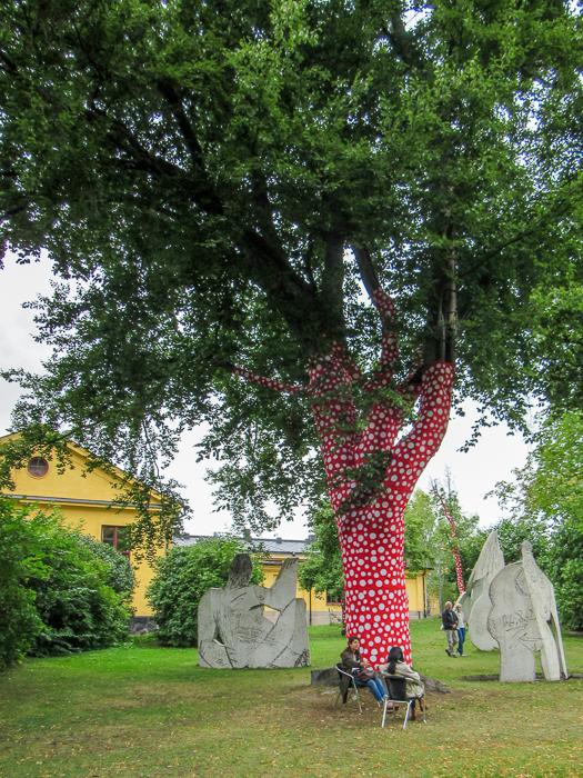 Tree in Stockholm.   Why Sweden felt like home.