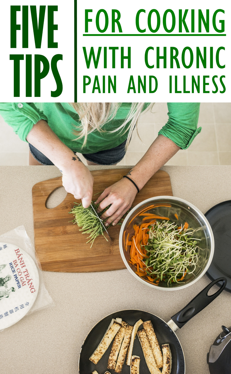 Tips for Cooking with Chronic Pain and Illness. | Photo by Airman Magazine via Flickr.