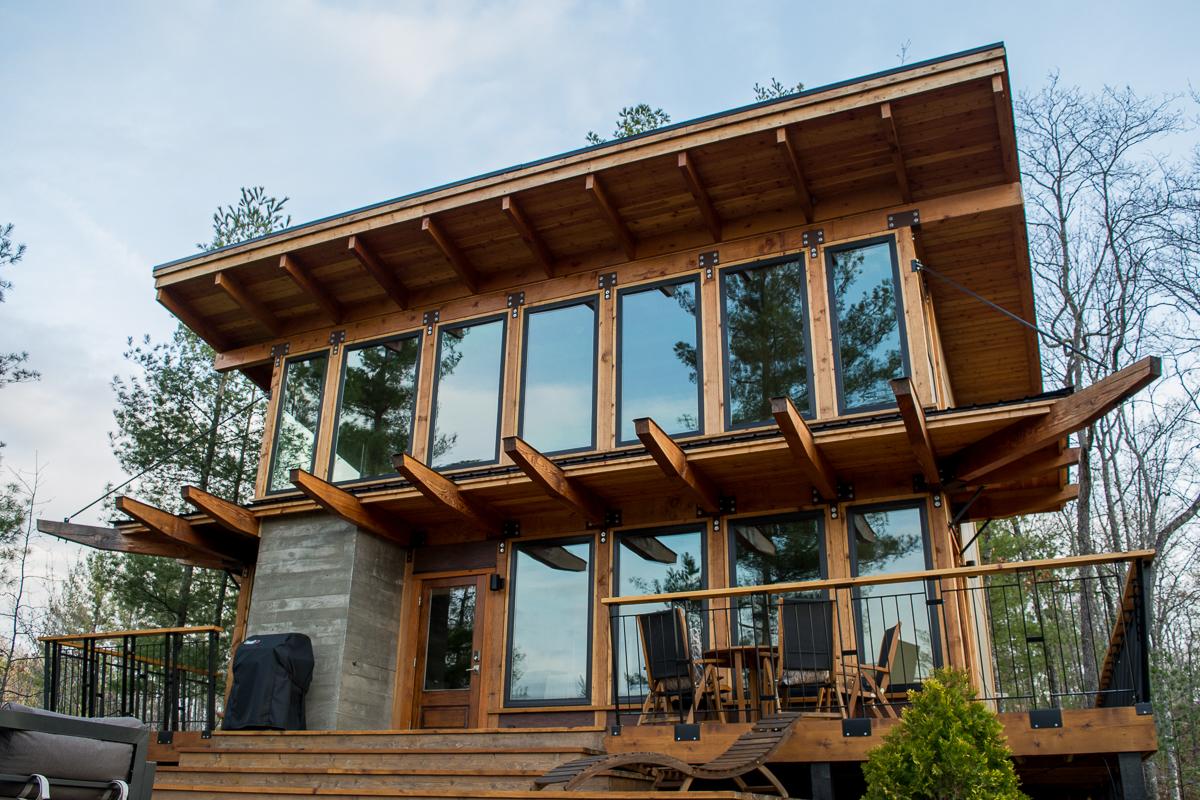 The Stecoah House, a Luxury Cabin Rental in North Carolina.