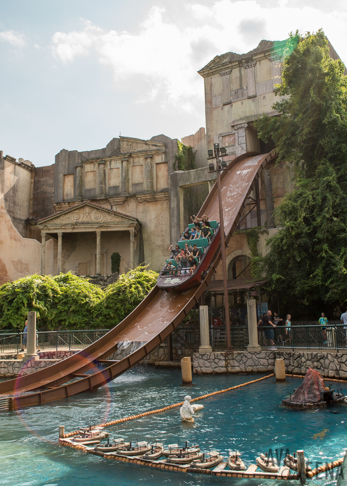 Escape From Pompeii Water Ride. | Busch Gardens Williamsburg: Ride Reviews  And Tips For