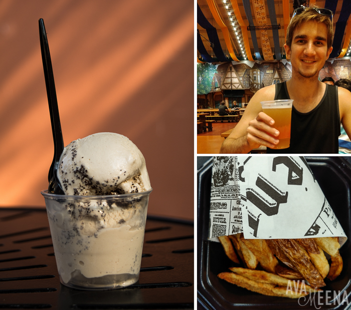 Italian gelato, French fries, and German beer. | Busch Gardens Williamsburg: Ride Reviews and Tips for Visiting.