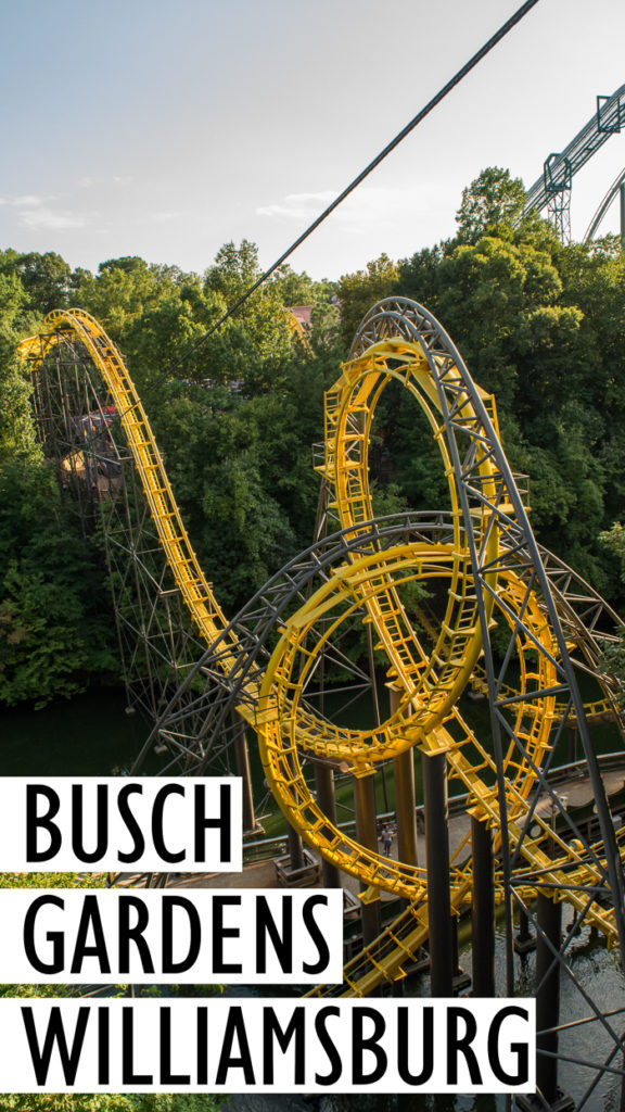 Almost everything you need to know about visiting Busch Gardens Williamsburg in Virginia | Tips for visiting Busch Gardens Williamsburg | Theme park reviews | Busch Gardens Williamsburg review | What to see at Busch Gardens Williamsburg | Theme parks | Roller coasters | Loch Ness Monster Roller Coaster | Theme parks in Virginia | Busch Gardens | Amusement parks Virginia.
