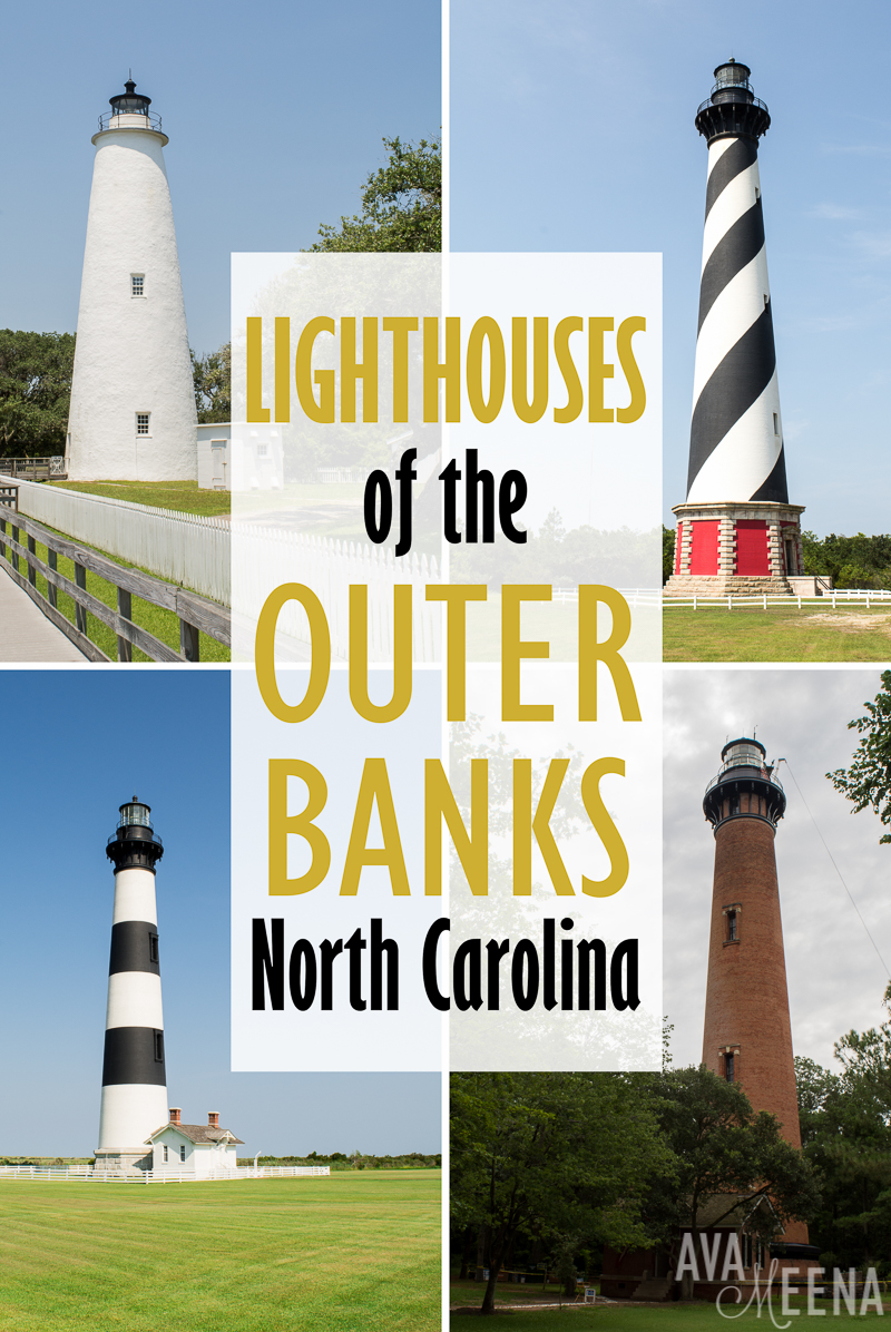 A Guide to the Lighthouses of the OBX, North Carolina on My Meena Life | Outer Banks Lighthouses | Lighthouses in the Outer Banks | Fun things to do in the Outer Banks | OBX | Lighthouses in North Carolina | North Carolina Lighthouses | Fun things to do in North Carolina