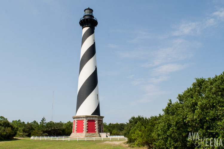 A Guide to the Outer Banks Lighthouses in North Carolina.
