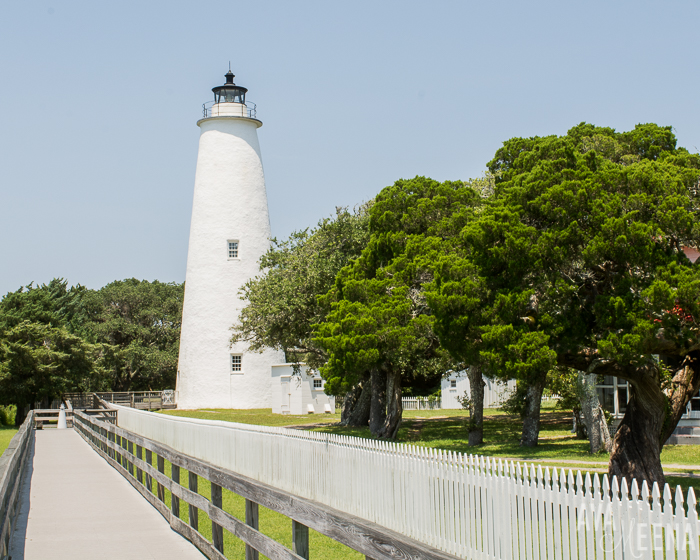 Ocracoke Lighthouse. | Ocracoke Island | Outer Banks Lighthouses | A Guide to the Lighthouses of the OBX, North Carolina