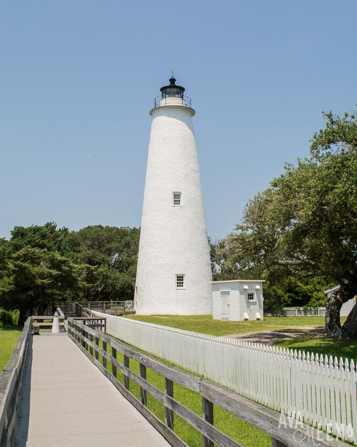 Ocracoke Lighthouse. | Ocracoke Island | Outer Banks Lighthouses | A Guide to the Lighthouses of the OBX, North Carolina | Lighthouses in the Outer Banks | Lighthouses in North Carolina | North Carolina Lighthouses