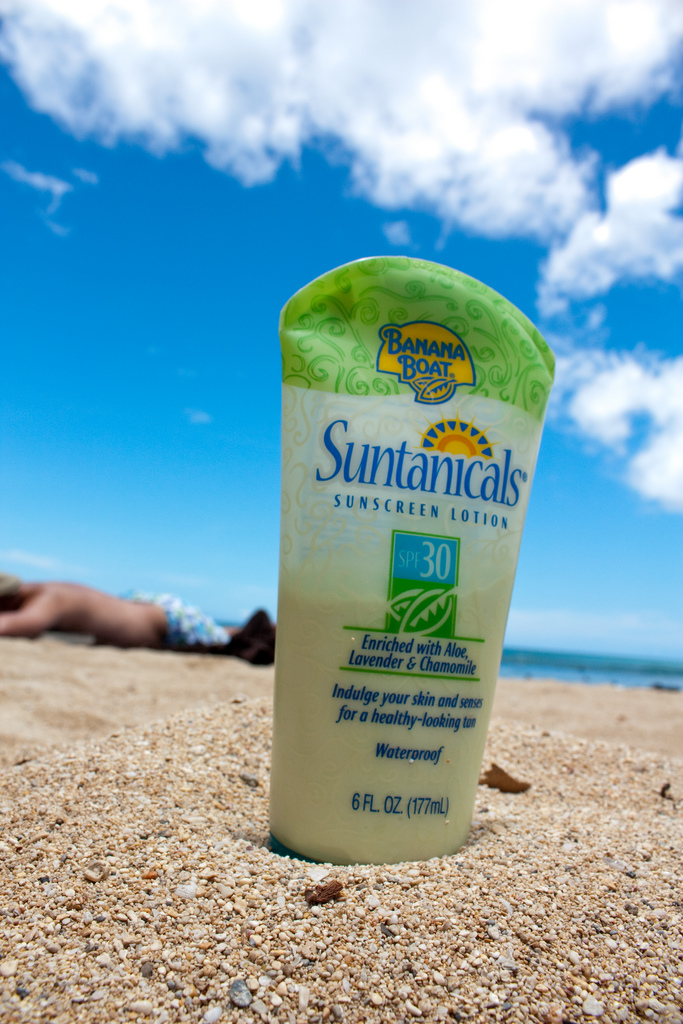Sunscreen photo by SeanNakamura via Flickr | Daily Living with Lupus