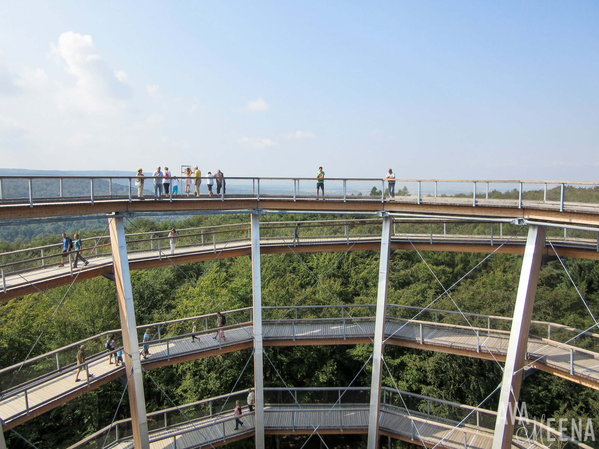 Visiting the Baumwipfelpfad Steigerwald – an Incredible Treetop Path in Bavaria, Germany.