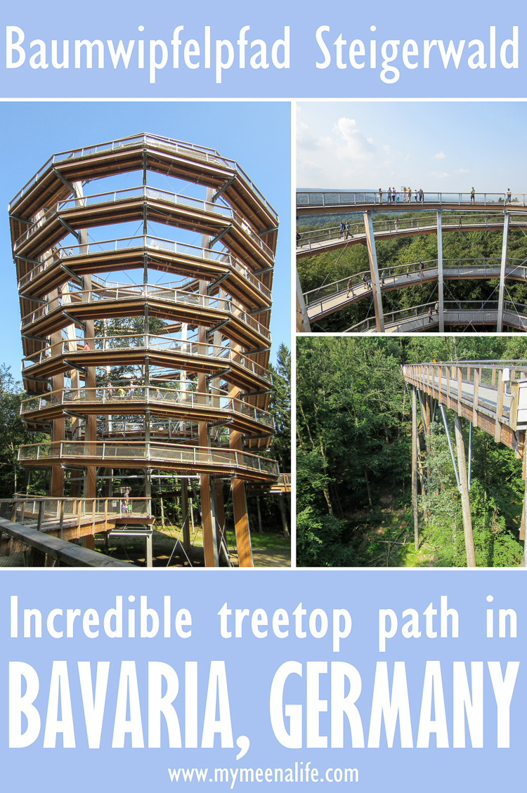 Visiting the Baumwipfelpfad Steigerwald – an Incredible Treetop Path in #Bavaria, #Germany.