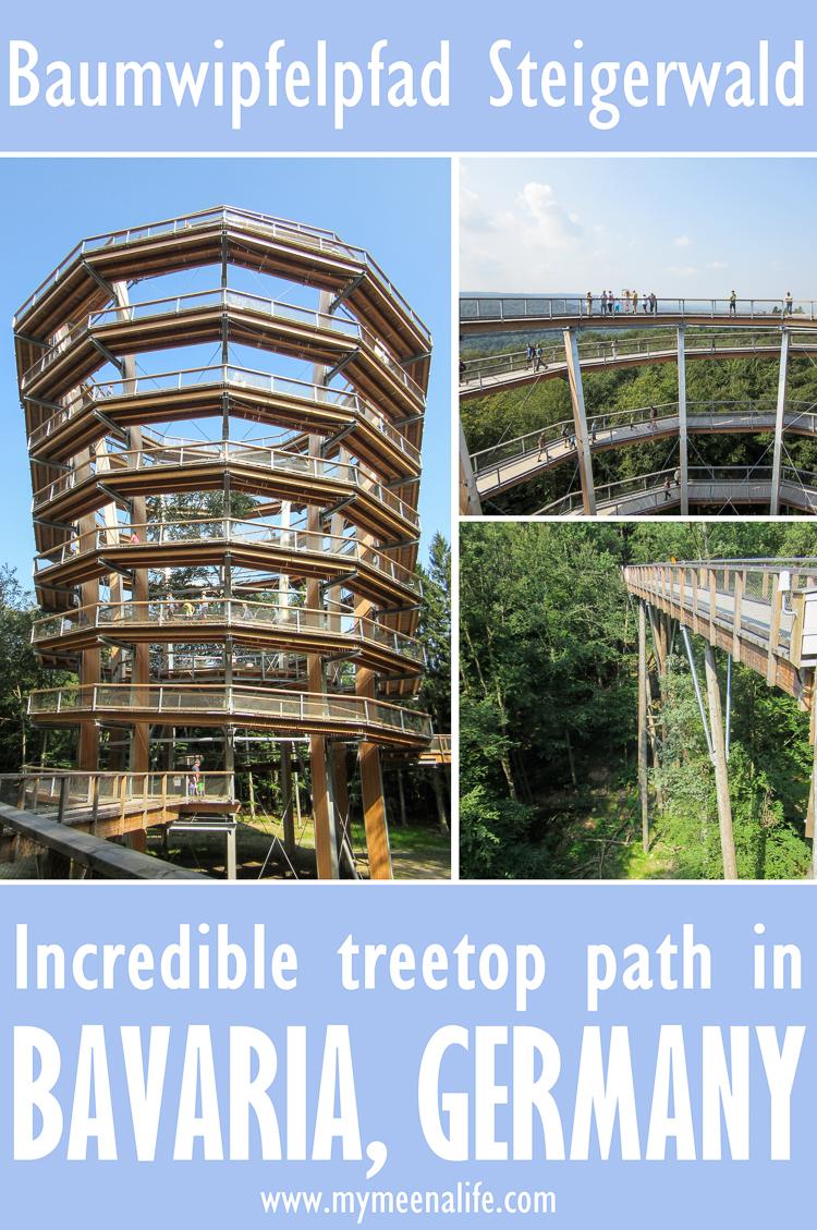 Visiting the Baumwipfelpfad Steigerwald – an Incredible Treetop Path in #Bavaria, #Germany.