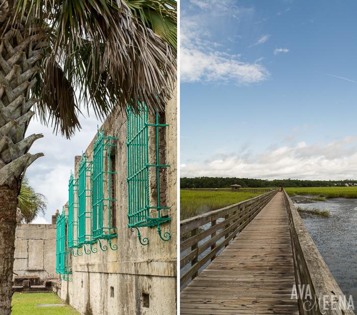 "Huntington Beach State Parkand the Atalaya ""Castle""(South Carolina)."